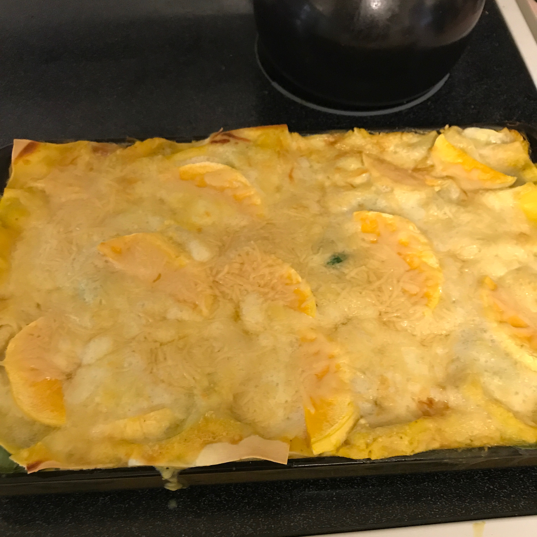 Roasted Butternut Squash and Garlic Lasagna Alicia Lawniczak