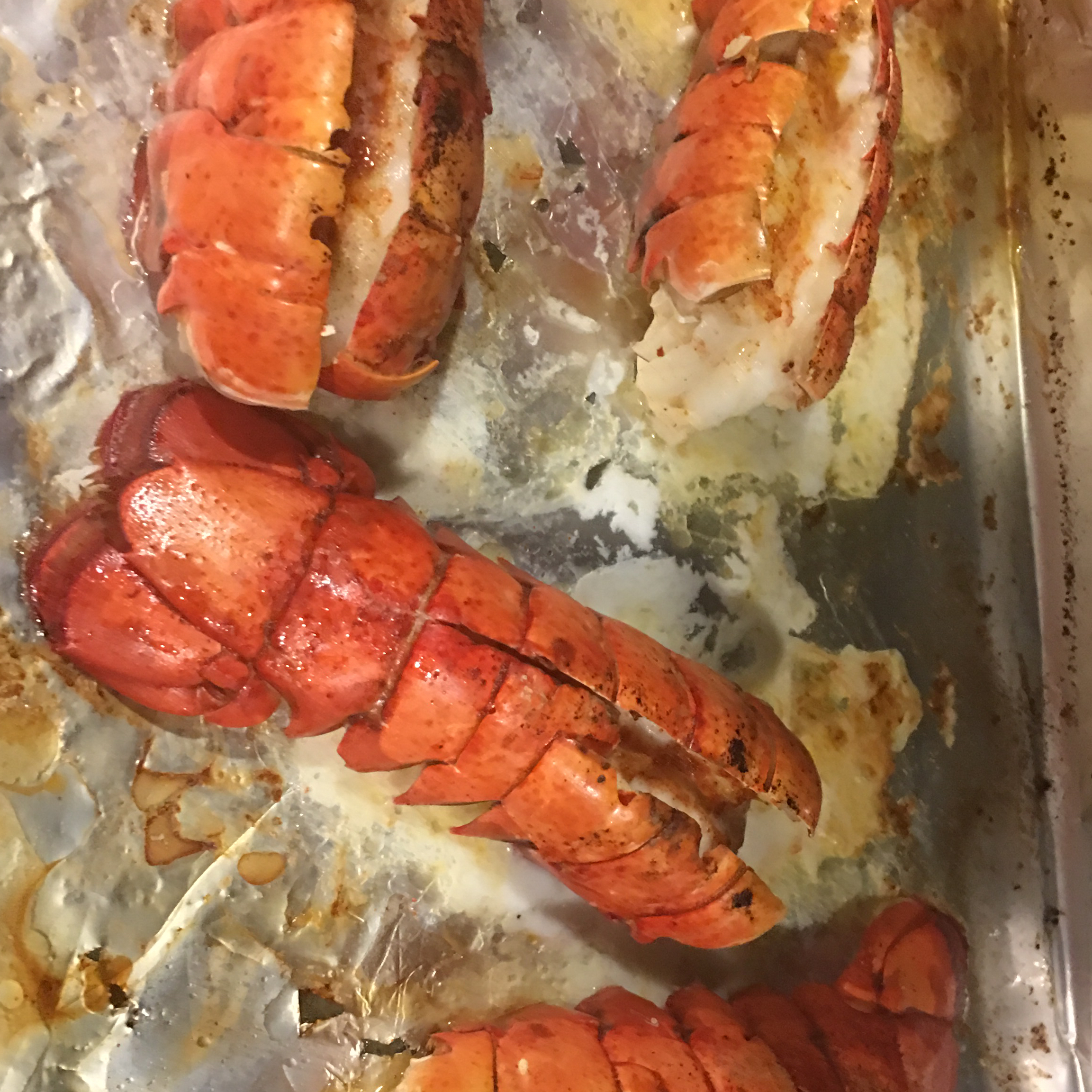 Broiled Lobster Tails Lowell Cooper