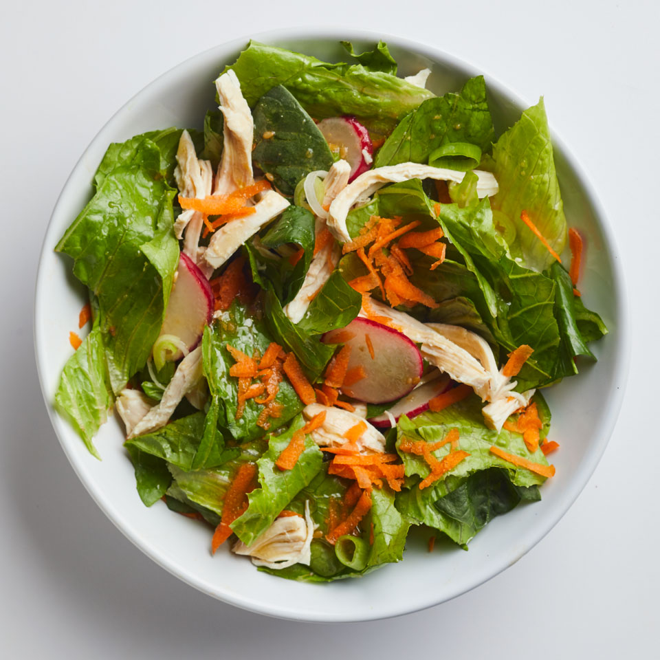 Sesame-Ginger Chicken Salad Breana Killeen