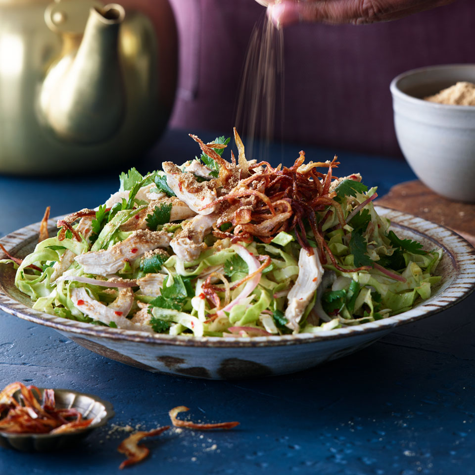 Burmese Chicken Salad Kate Leahy