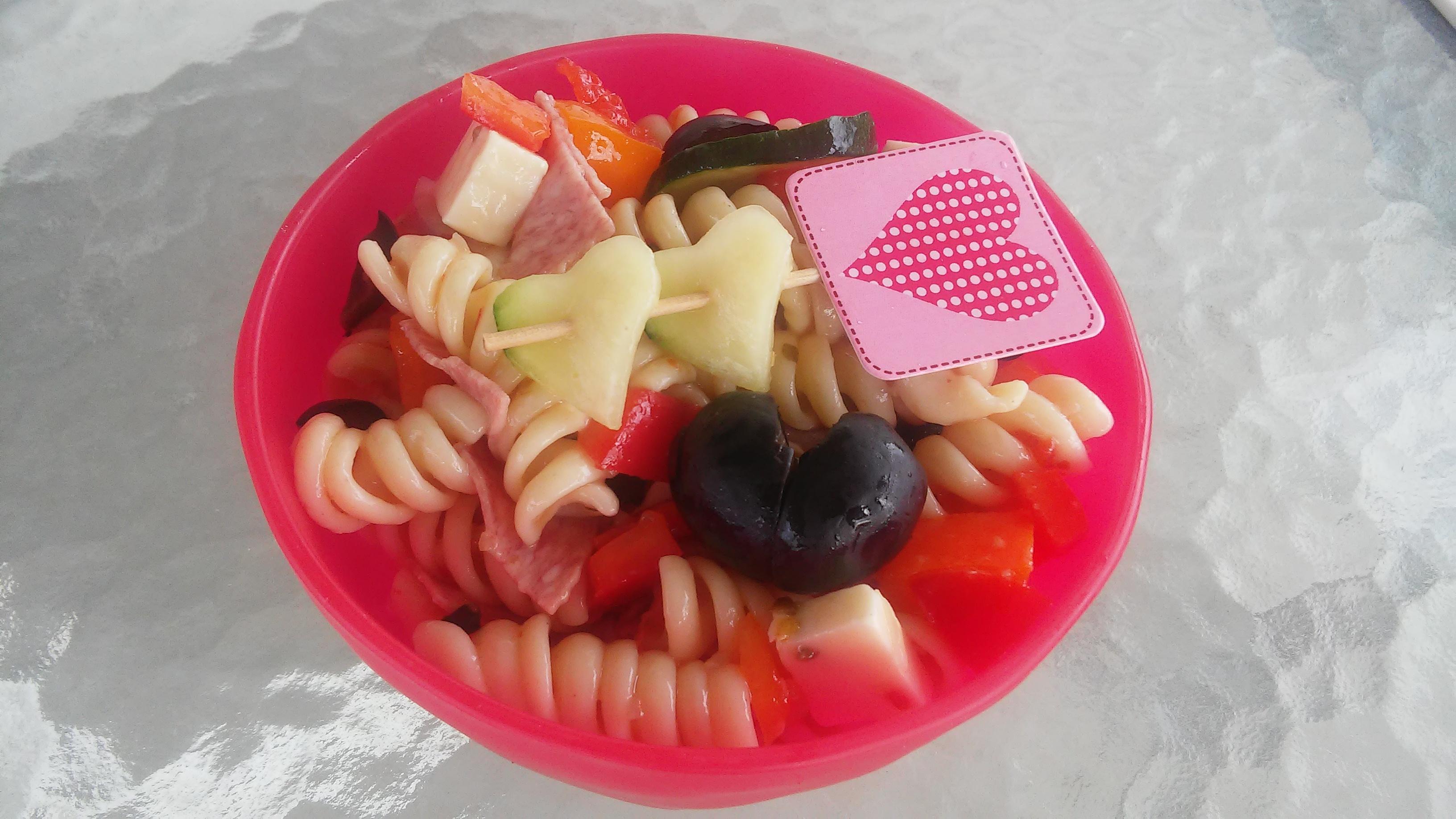Easy Cold Pasta Salad Tammy Lynn