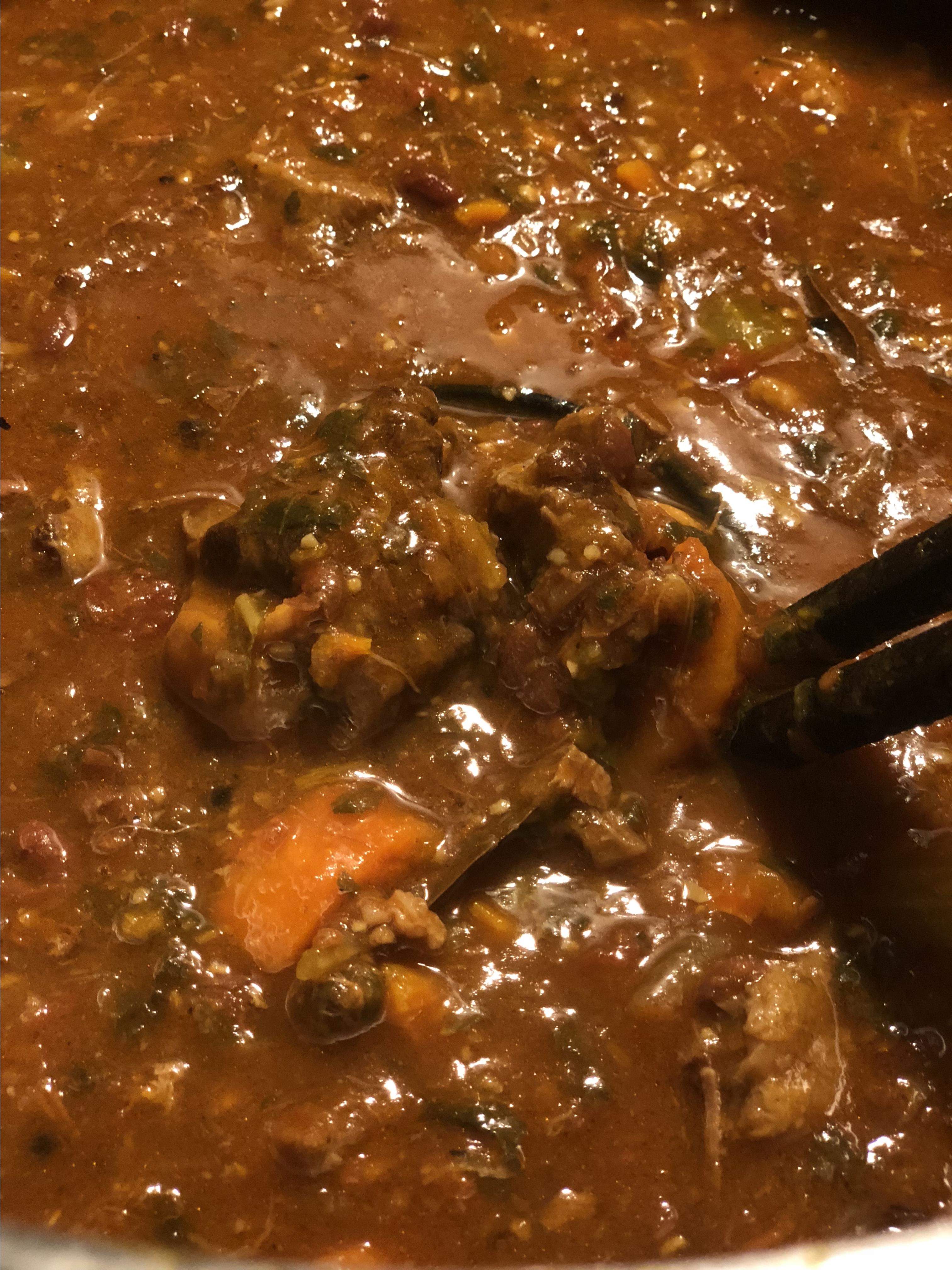 African-Style Oxtail Stew Skyui