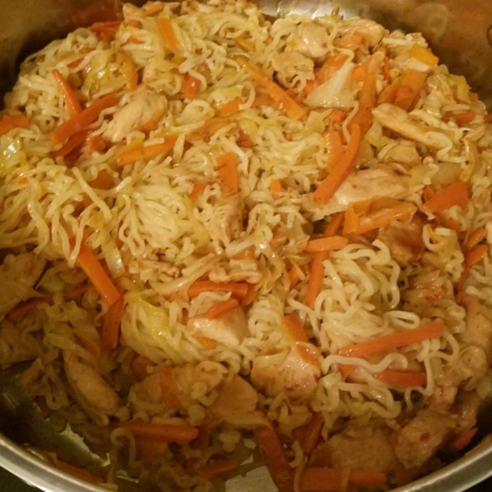 Chicken Yakisoba Shiva Amedeo