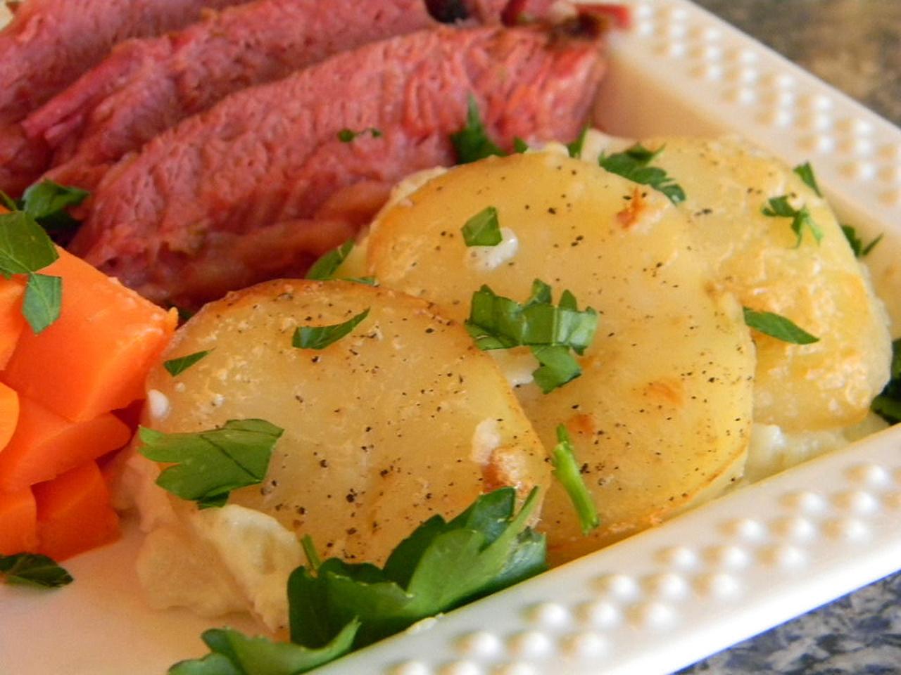 Old Irish Scalloped Potatoes