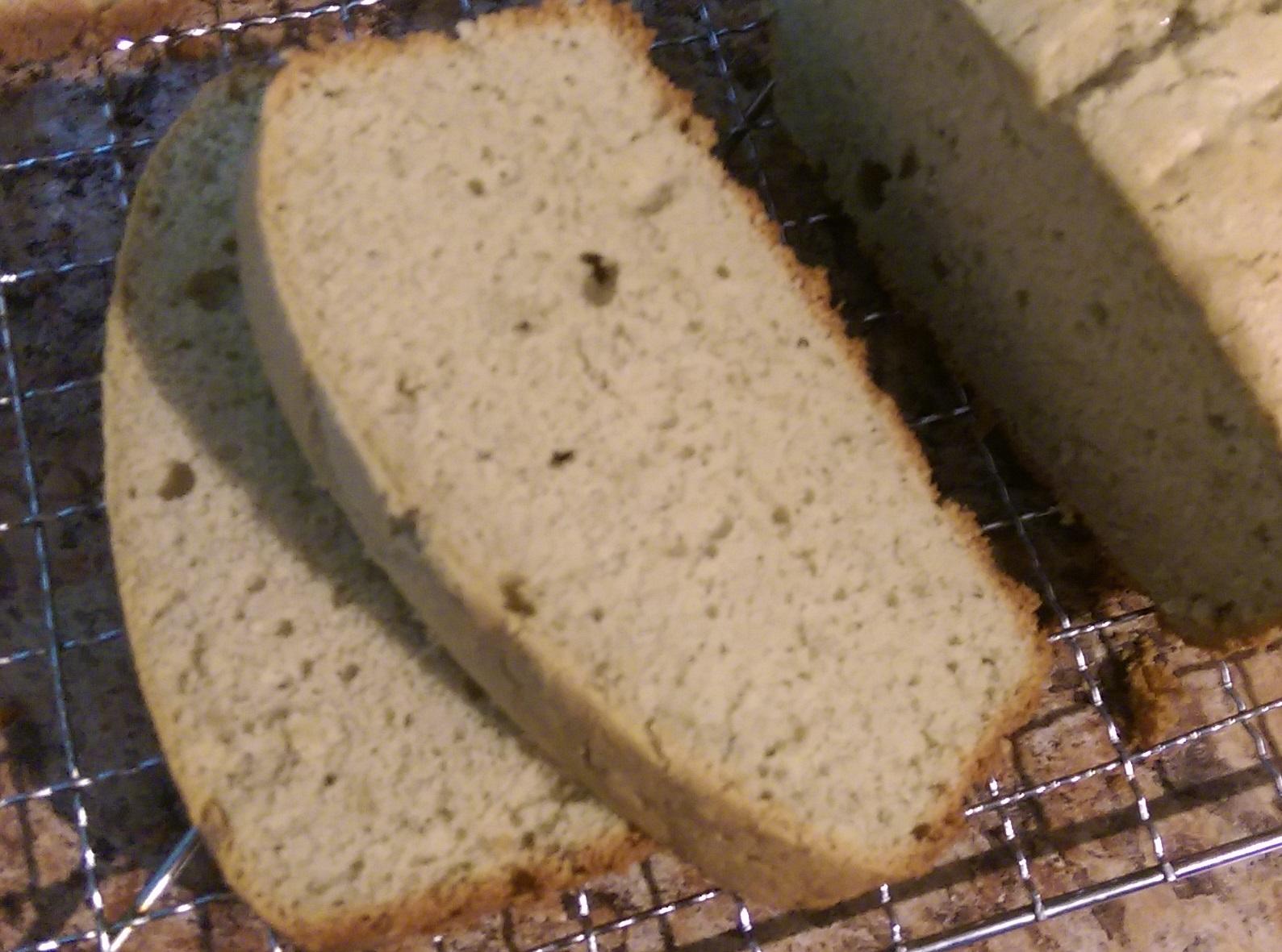 Green Tea Kasutera (Green Tea Bread)