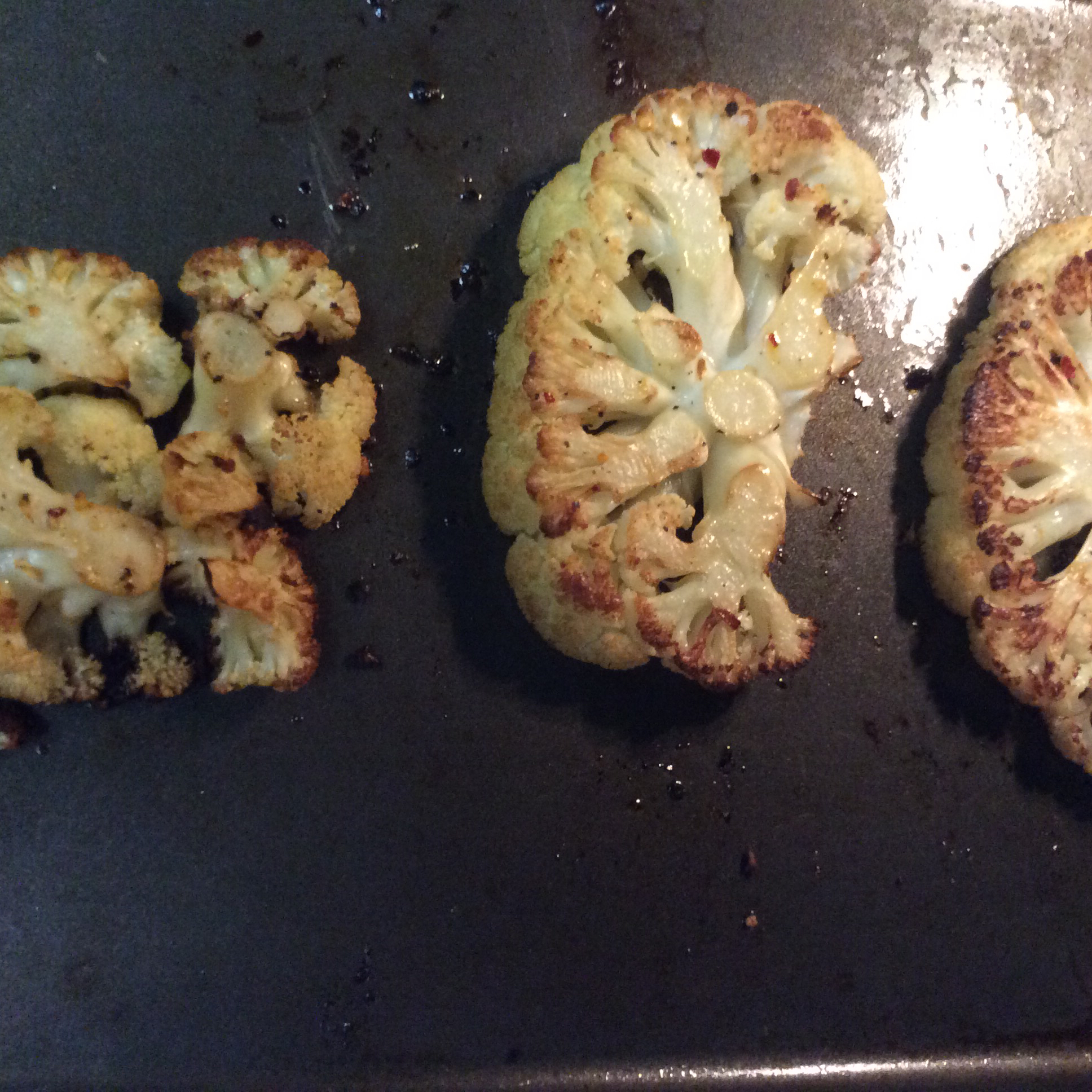 Roasted Cauliflower Steaks Jhane