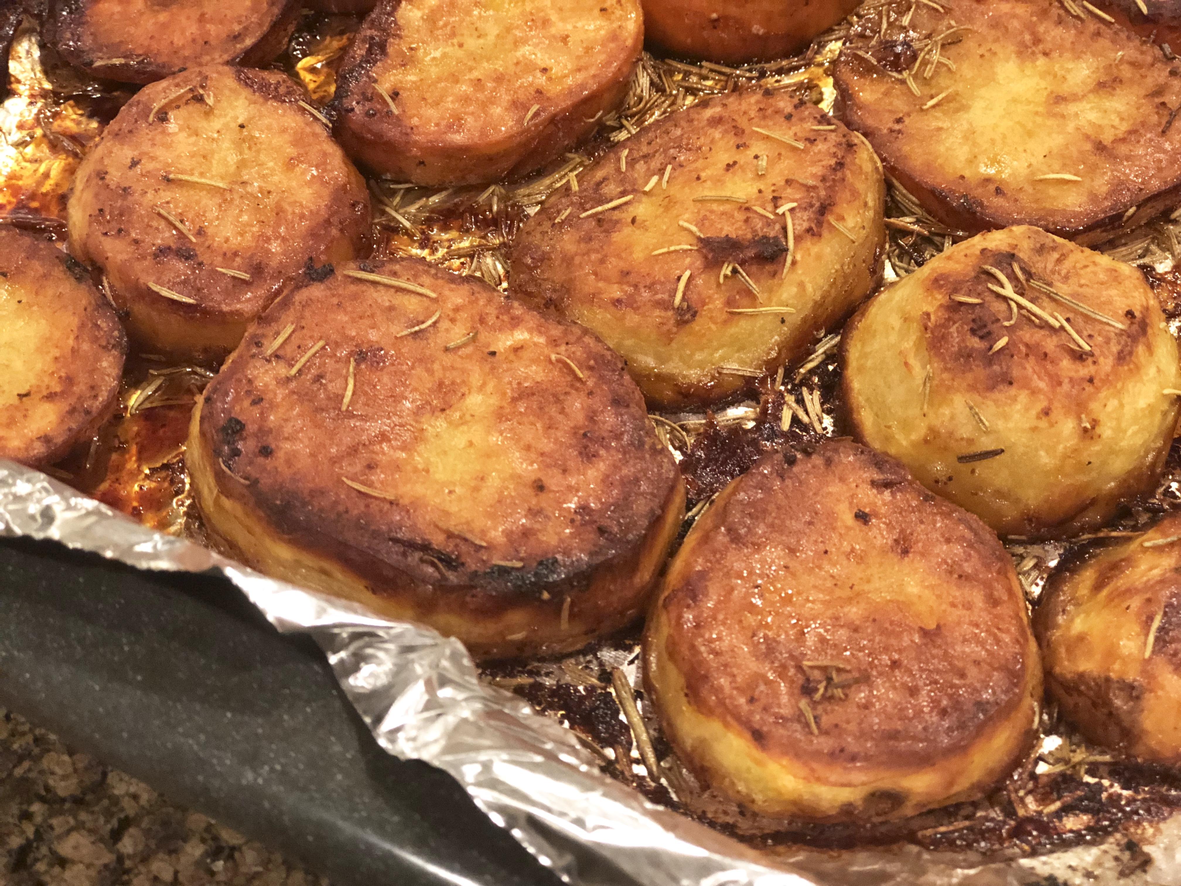 Roasted Melting Potatoes Fioa