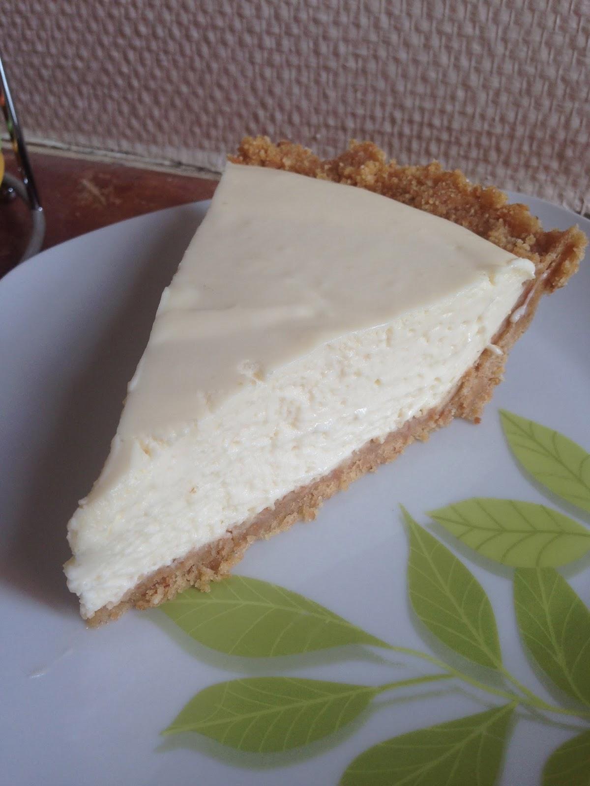 Quick Lemon Cheesecake