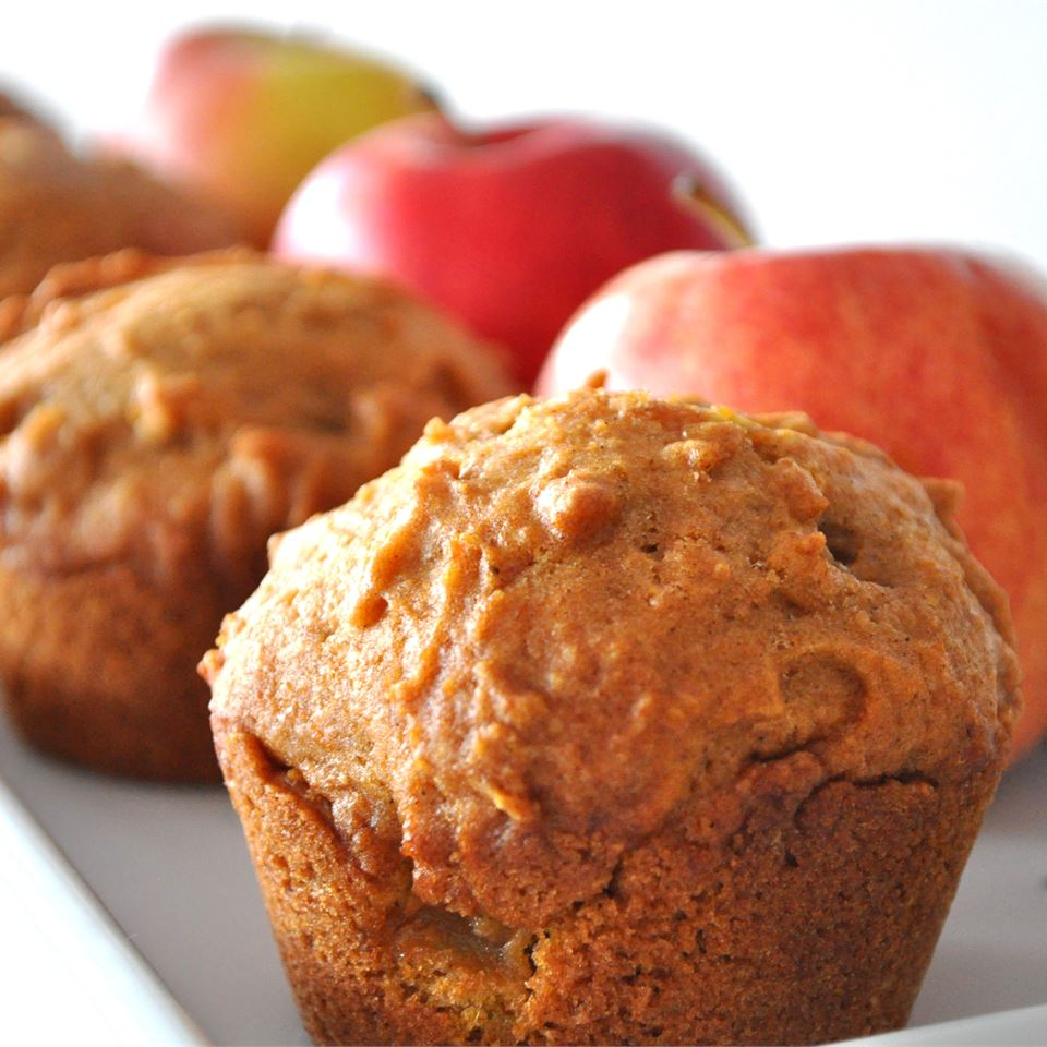 Pumpkin Apple Streusel Muffins JES55