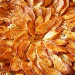 Milopita (Greek Apple Upside-Down Cake) Rose