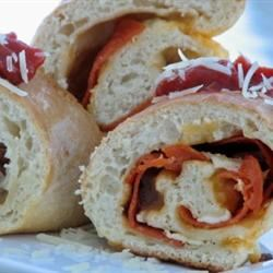 Pepperoni Bread mominml