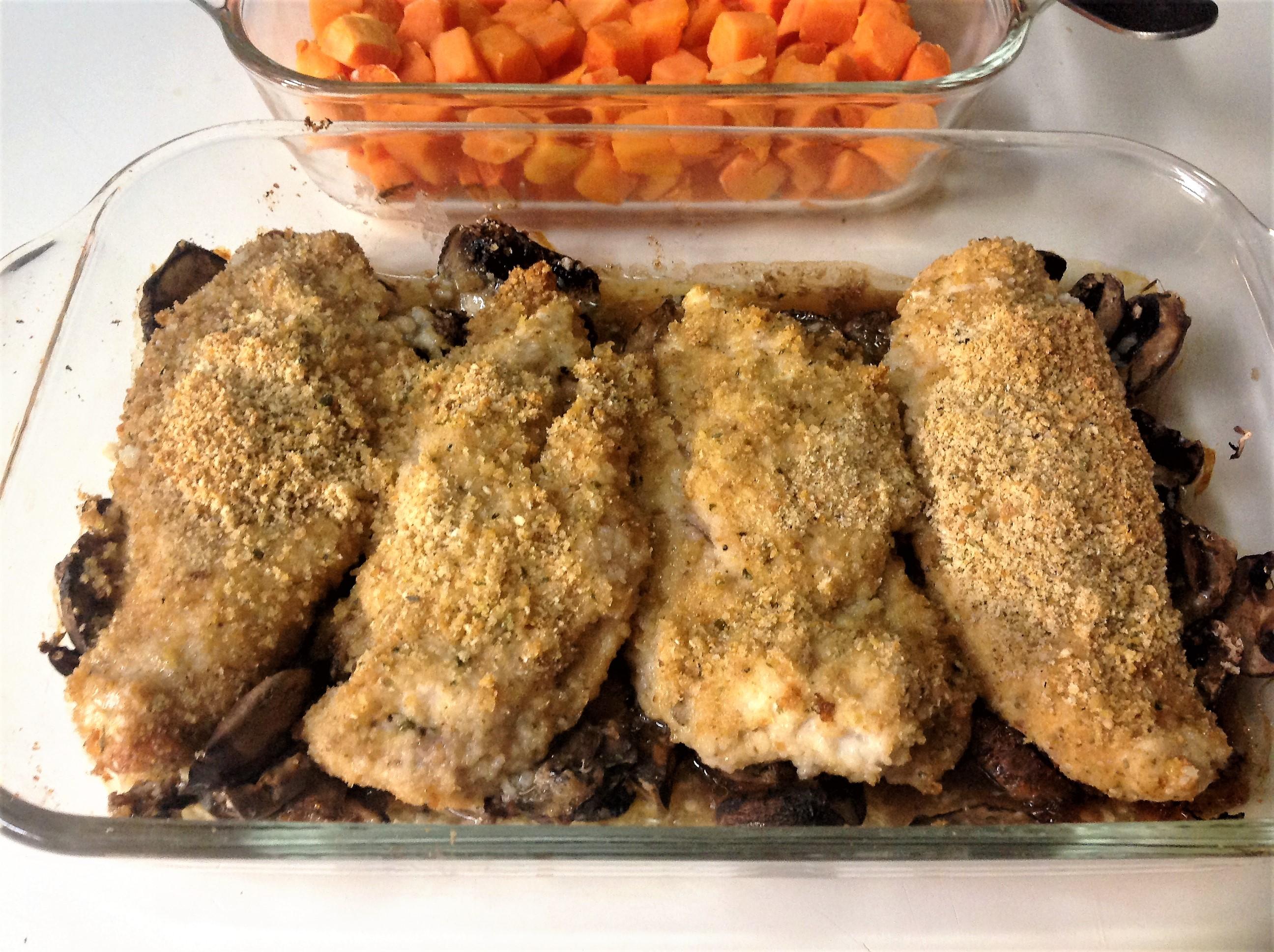 Grandma's Chicken Chardon