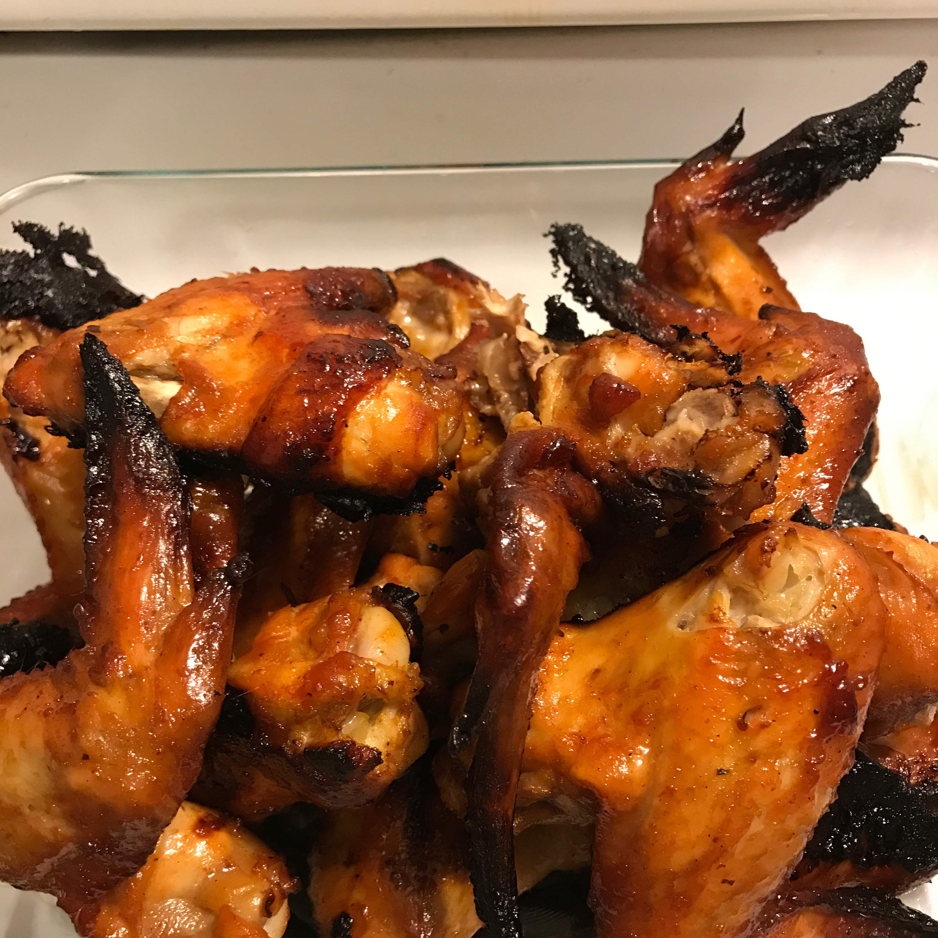3-Ingredient Baked BBQ Chicken Wings
