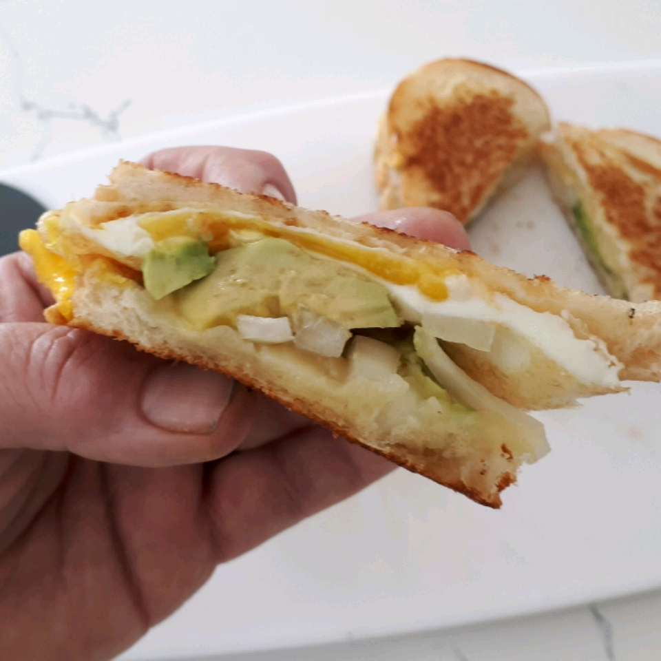 Avocado Breakfast Sandwich Terry Heffernan