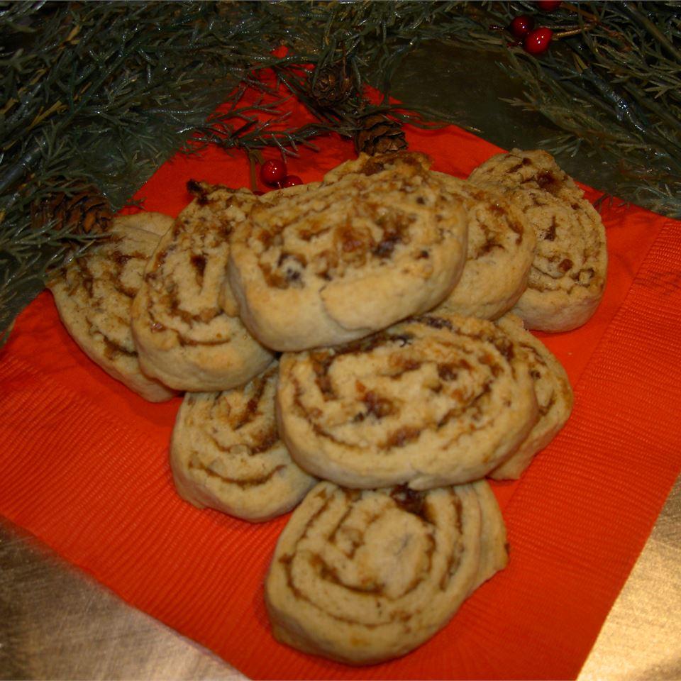 Date Nut Pinwheel Cookies II