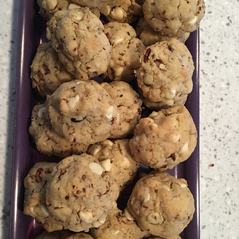 White Chocolate Chip Oatmeal Cookies Apenastics