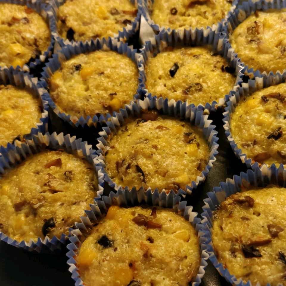 Quinoa Muffins Alina Tomescu-Baciu