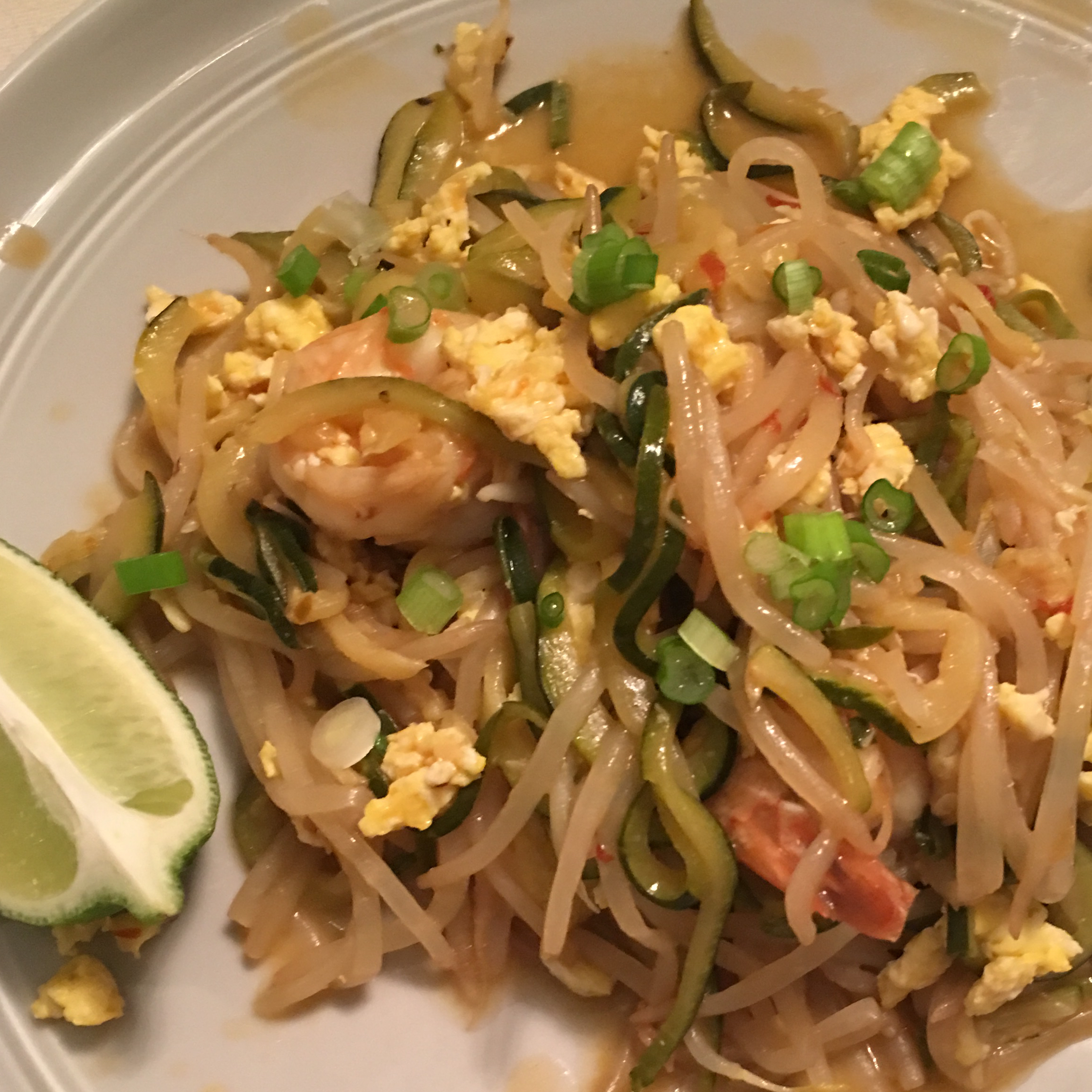 Zucchini Noodles Pad Thai