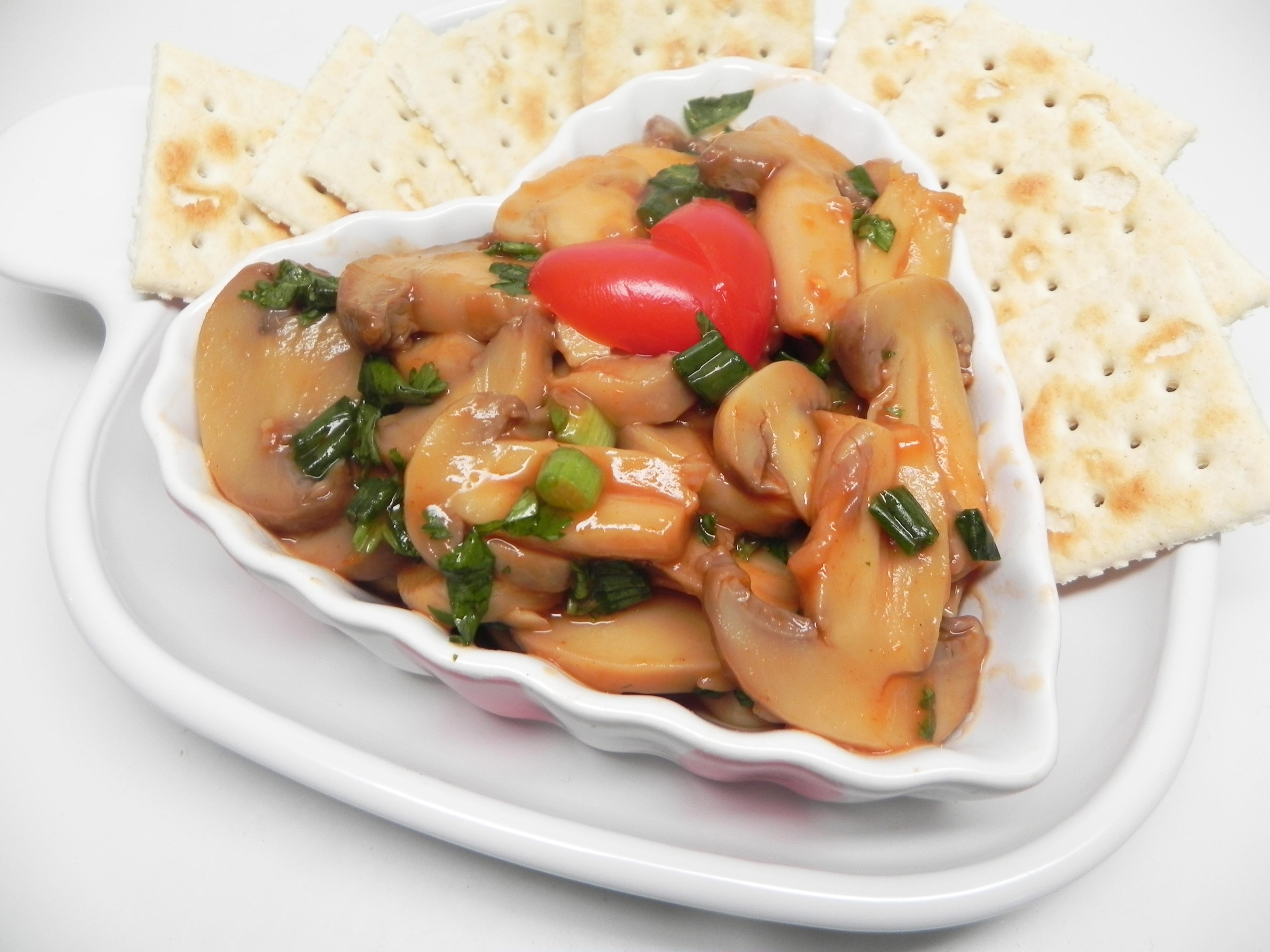 Quick Mushroom Ceviche