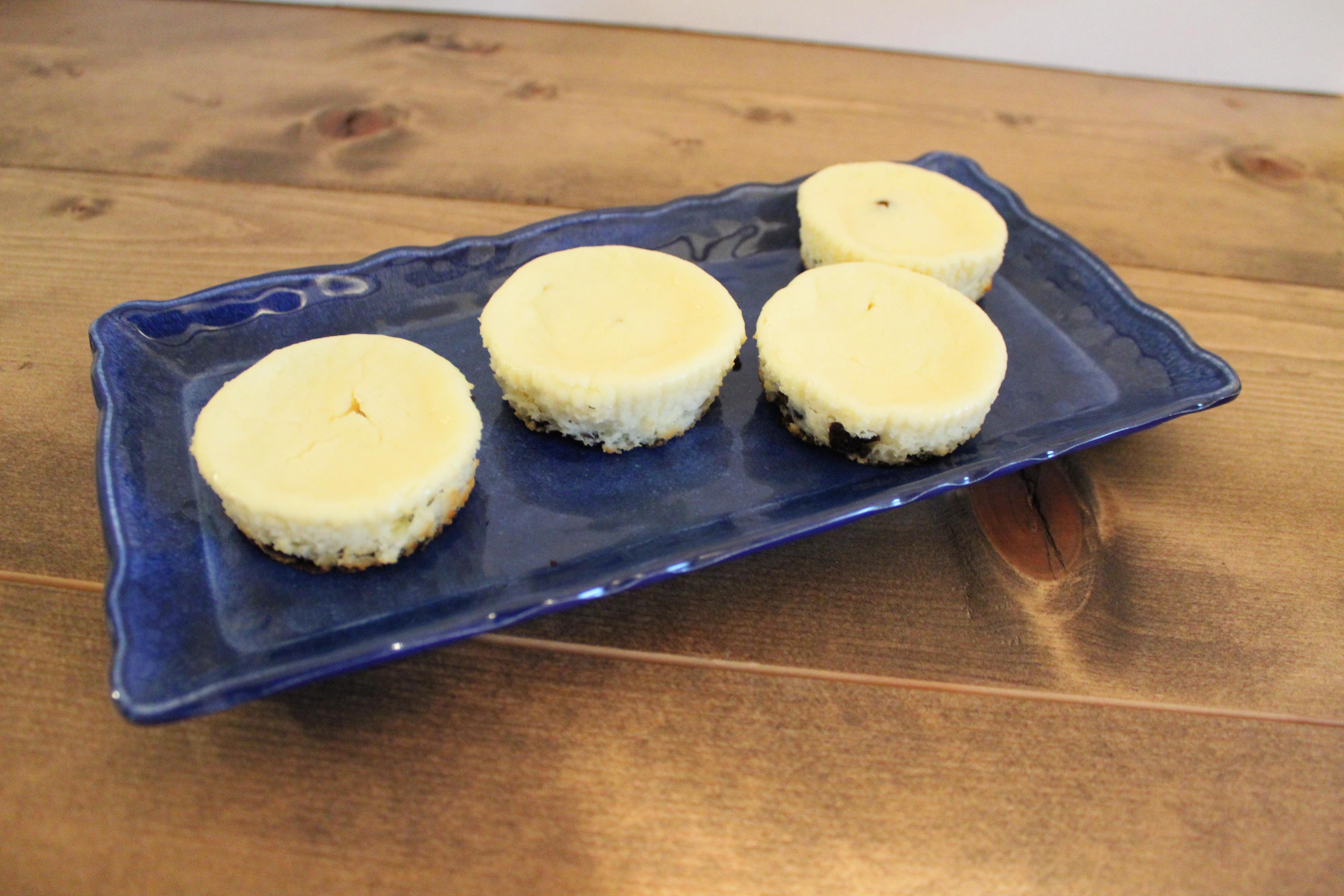 Minty Mini Cheesecake Bites Chef Mo