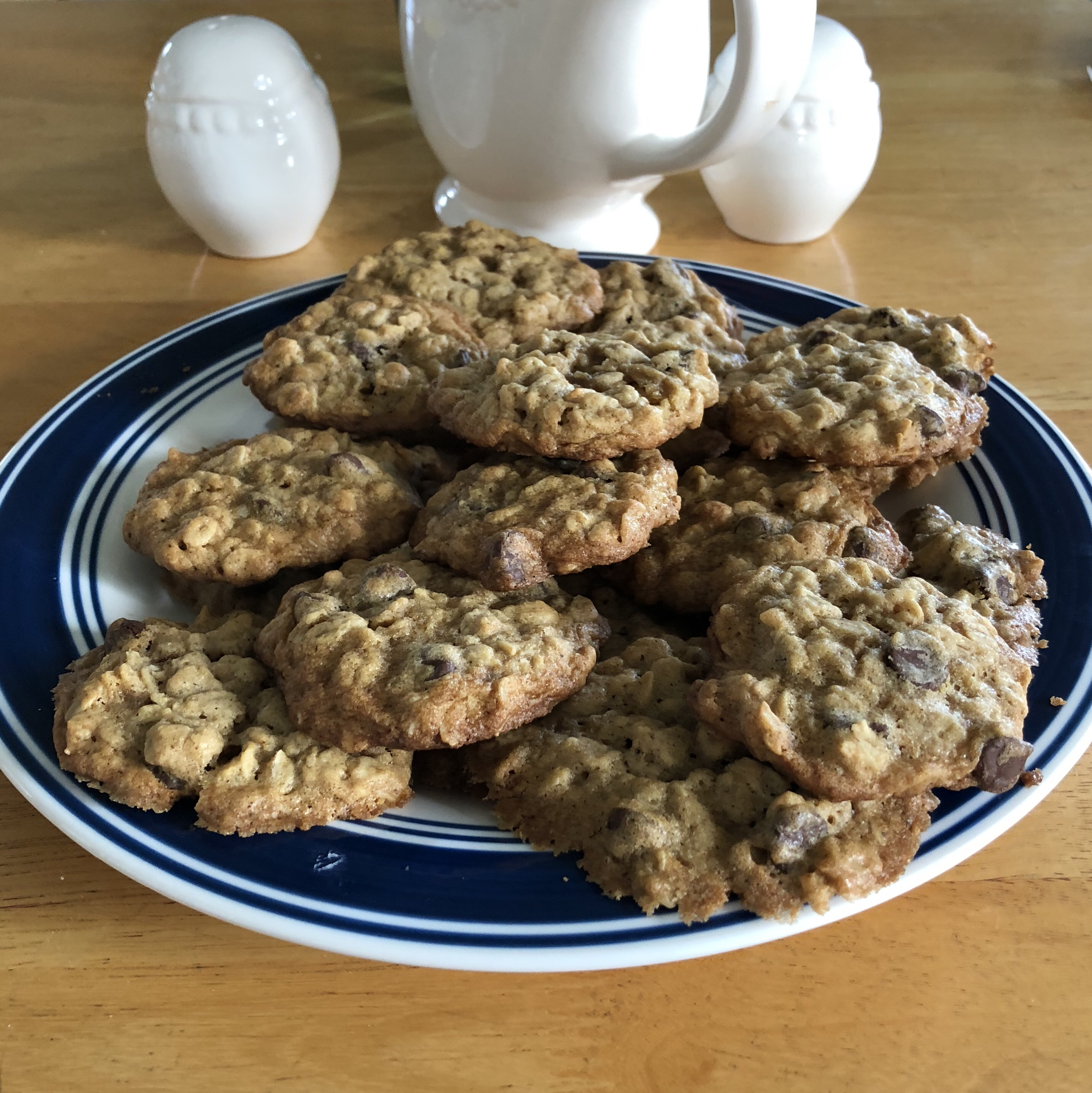 Vanishing Chocolate Oatmeal Cookies Katherine Brown
