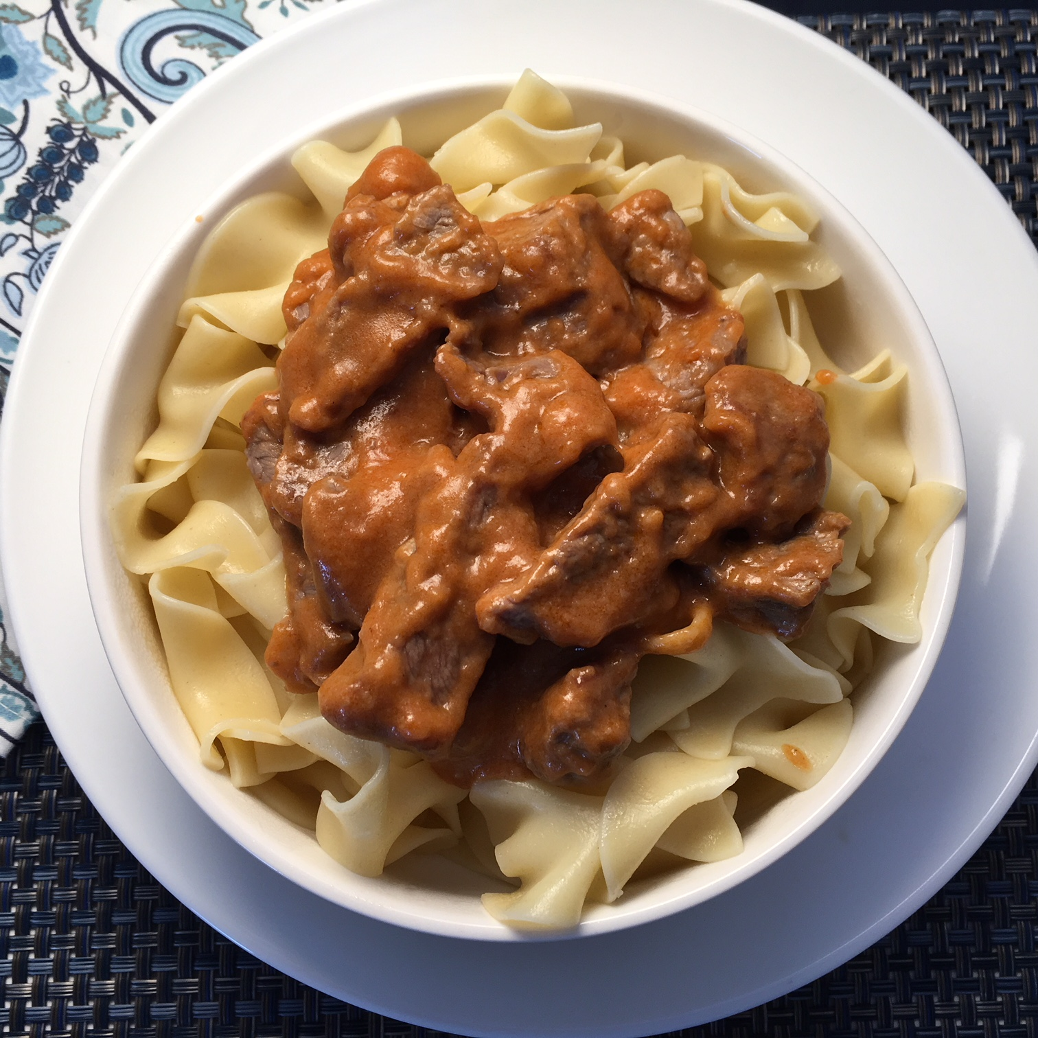 Russian Beef Stroganoff Howard