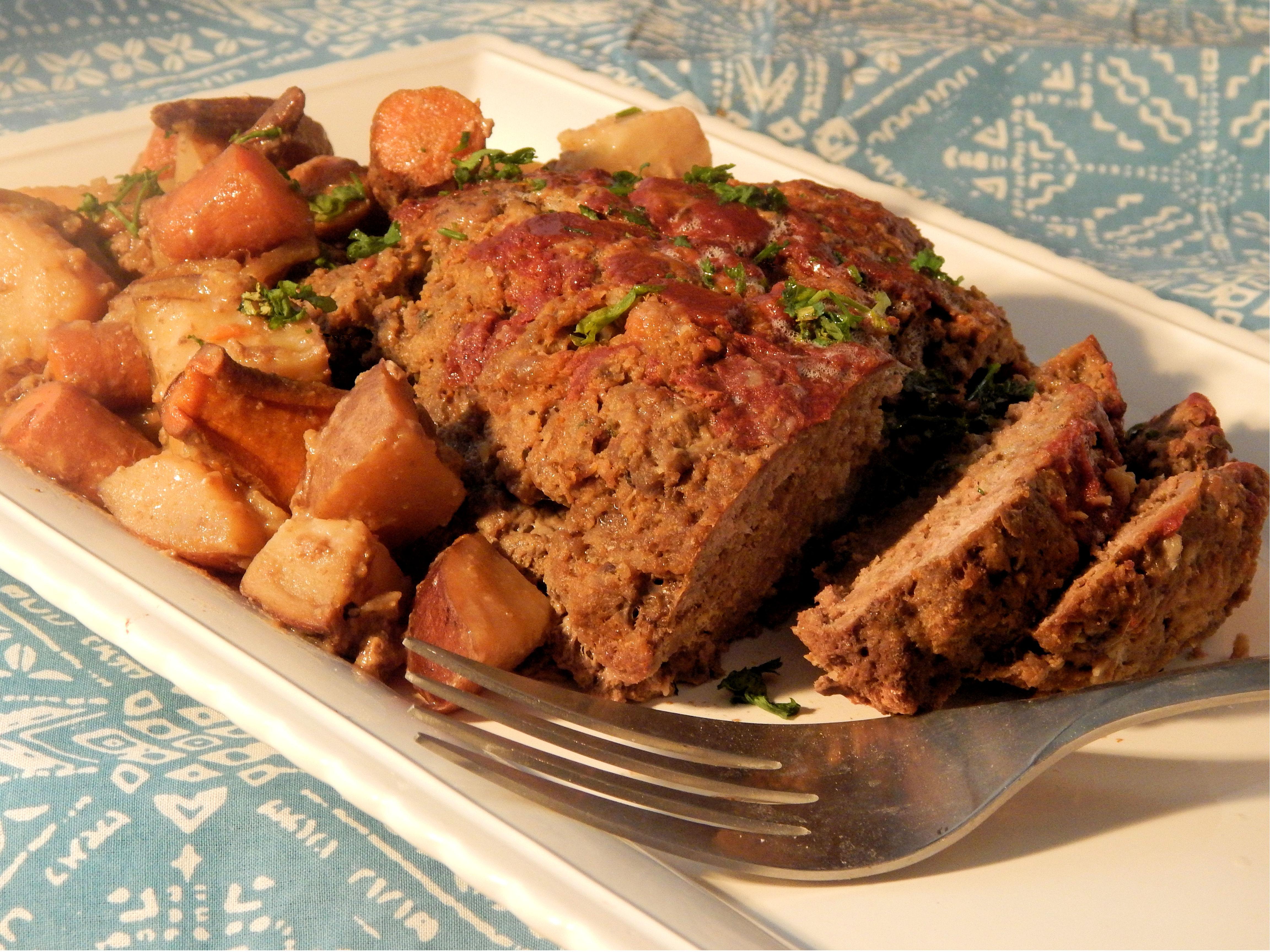Flavorized Slow Cooker Meatloaf