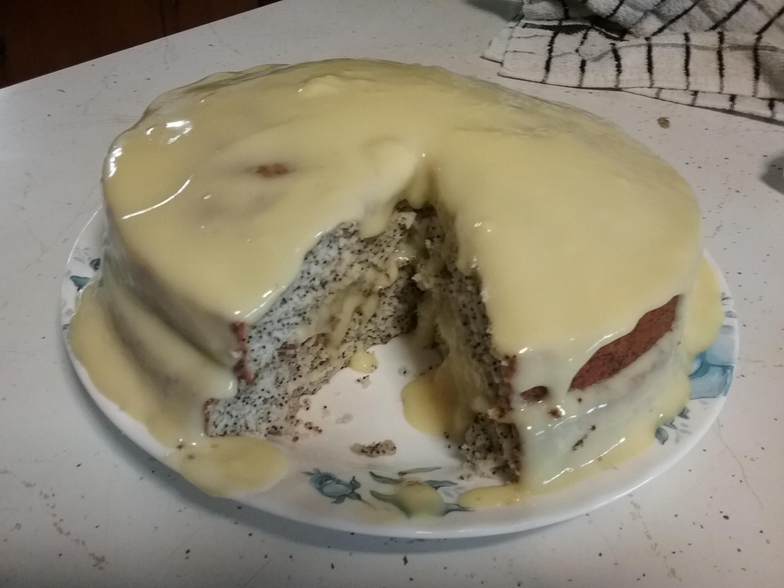 Poppy Seed Cake I mebyrne