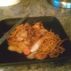 Yakisoba Chicken Lilly Corgan