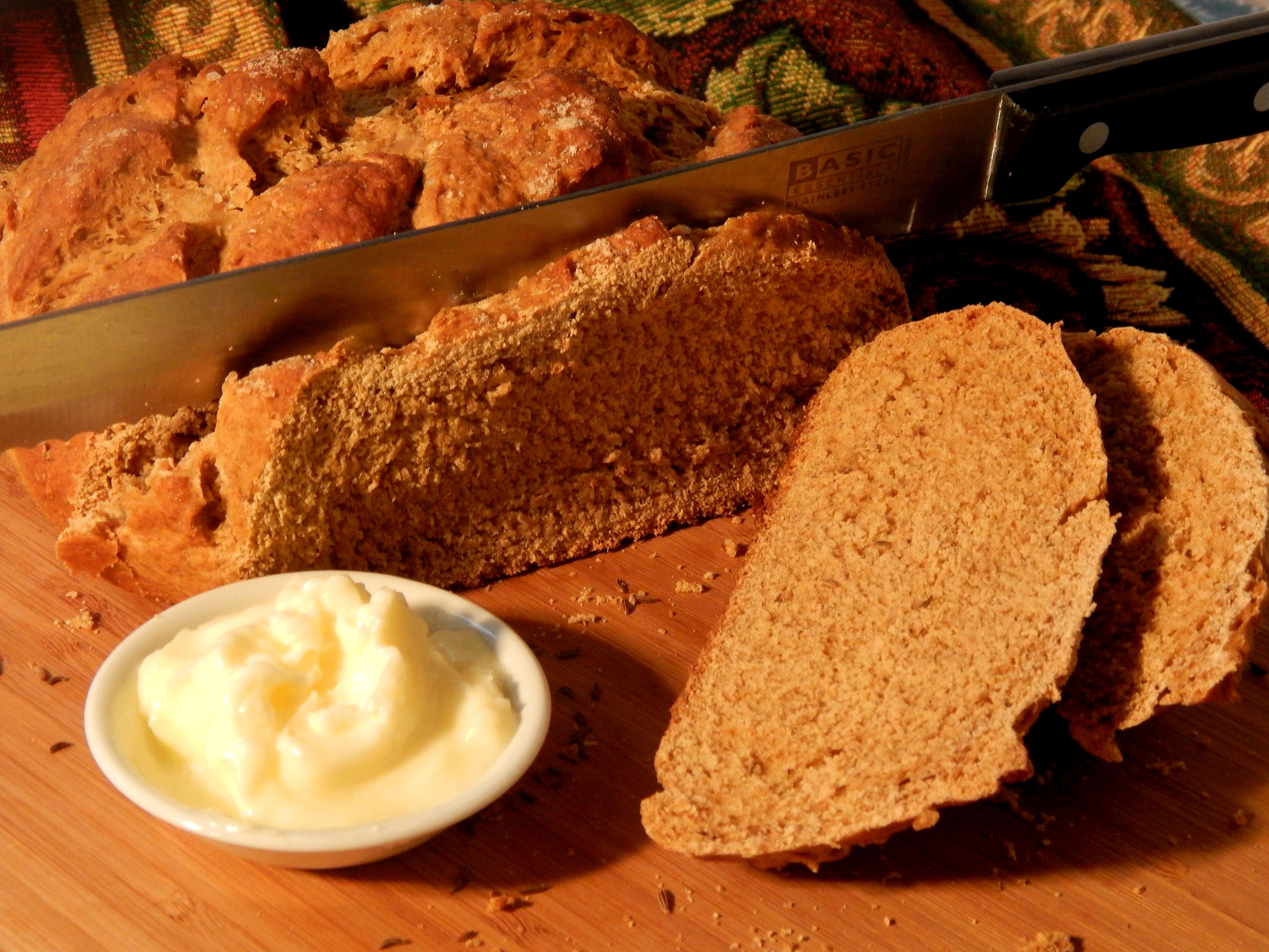 Swedish Limpa Rye Bread Linda T