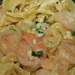 Shrimp Linguine Alfredo