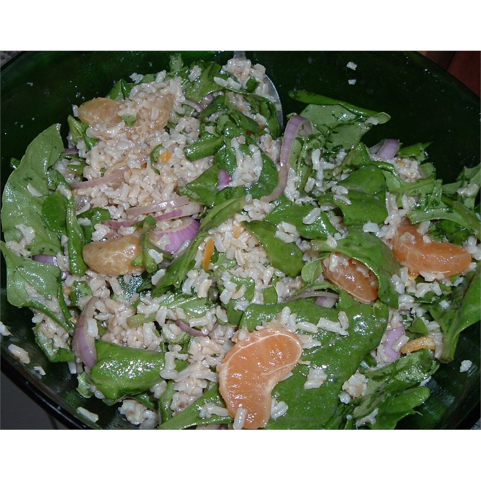 Orange Vinaigrette Brown Rice Salad RUBES1