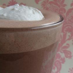 Whipped Hot Chocolate House of Aqua
