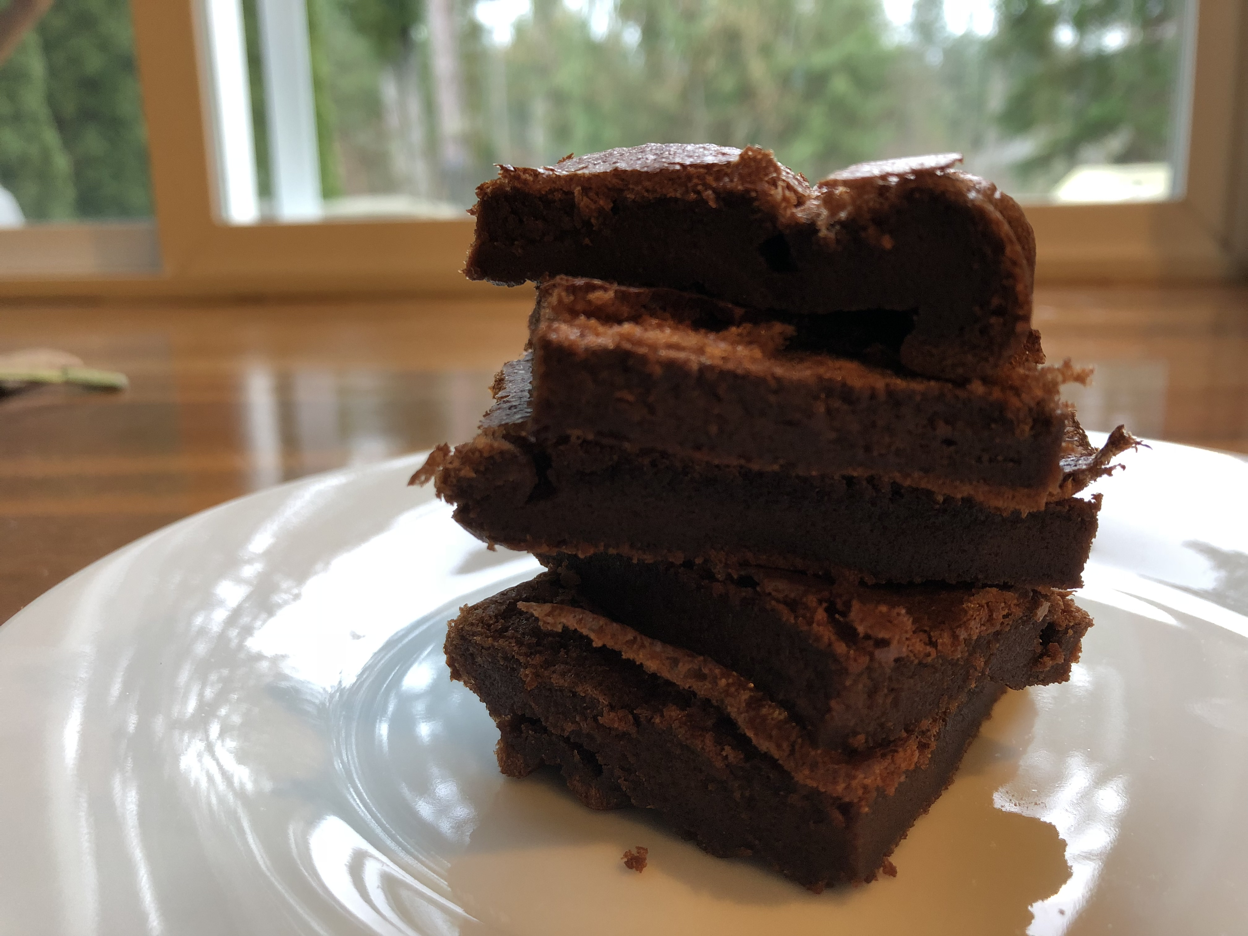 Easy Gluten-Free 2-Ingredient Nutella® Brownies