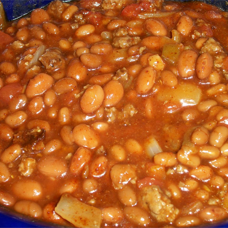 Texas Cowboy Baked Beans