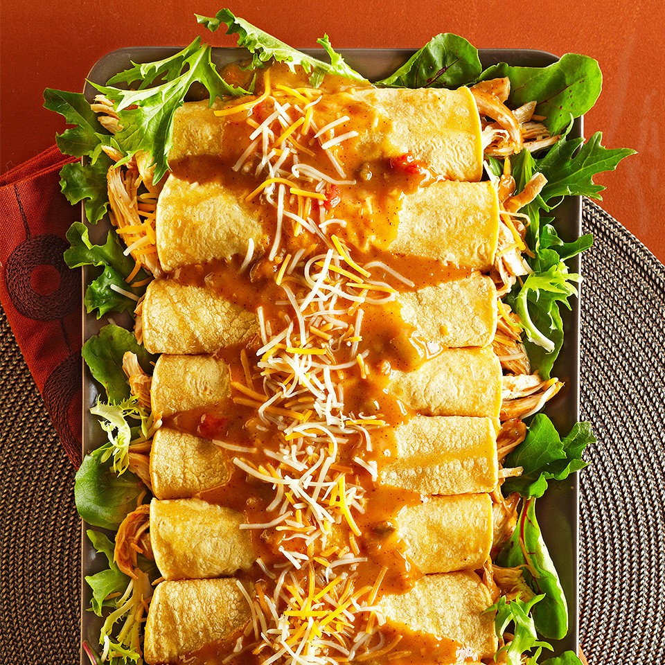 Easy Chicken Enchiladas Diabetic Living Magazine