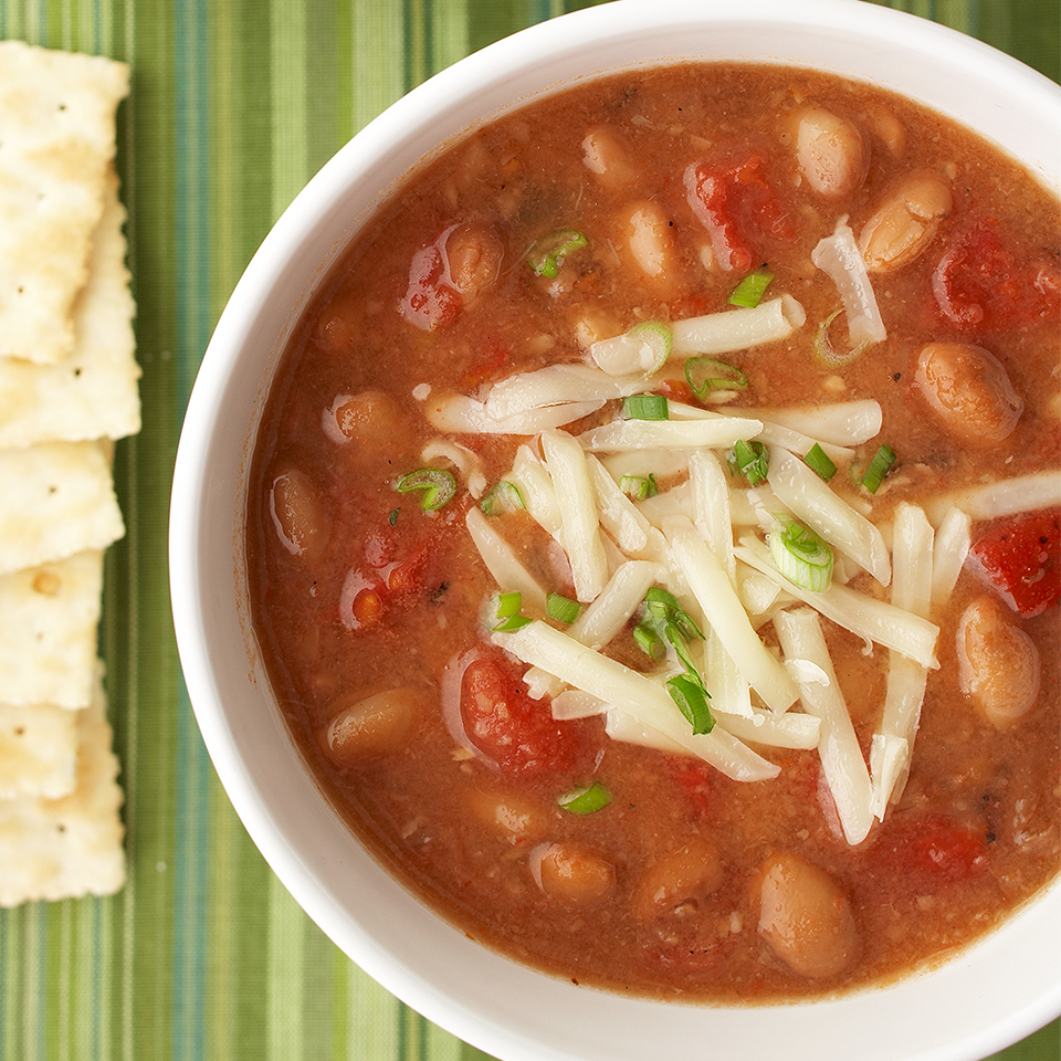 Southwestern Pinto Bean Soup Recipe Eatingwell
