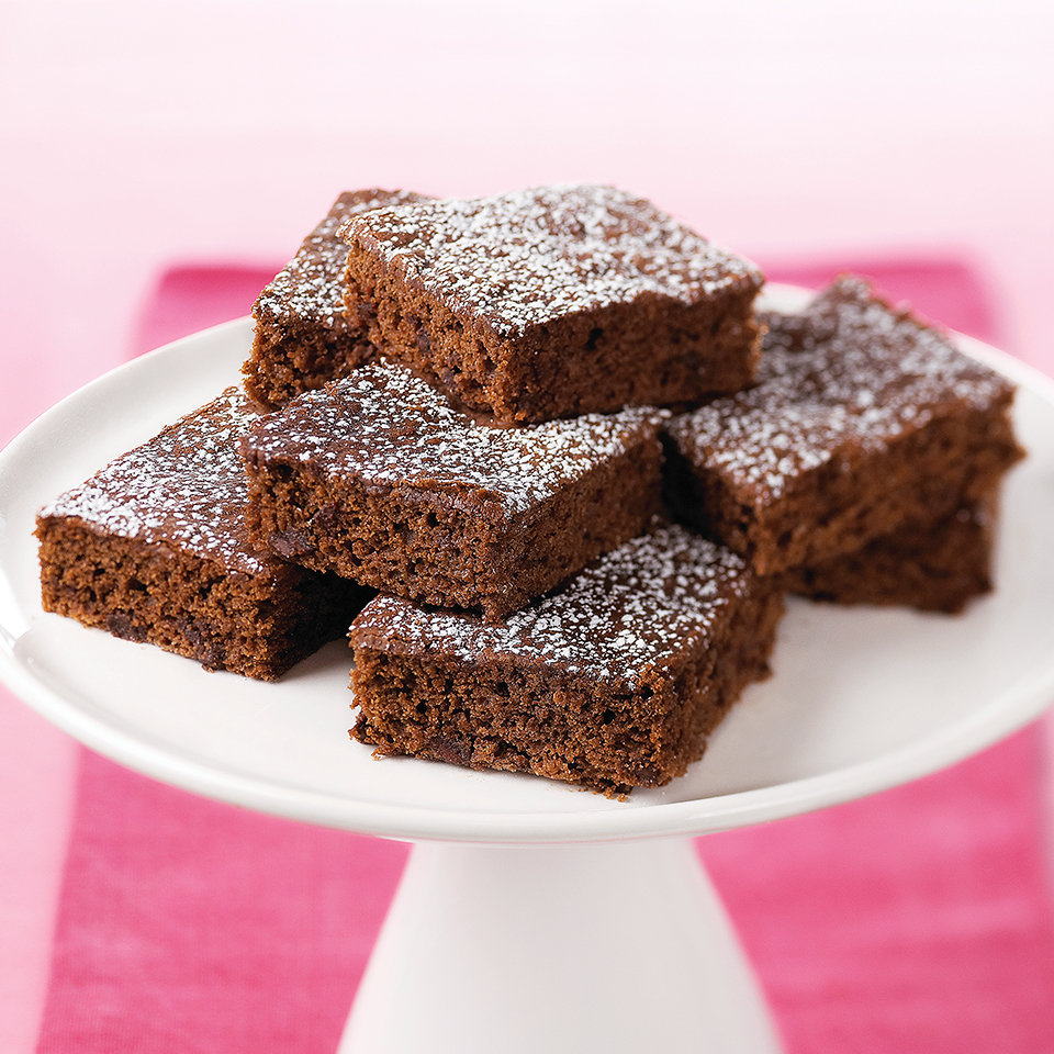 Two kinds of chocolate make these diabetic-friendly, health-minded brownies hard to resist. Enjoy them for a snack or dessert. Source: Diabetic Living Magazine