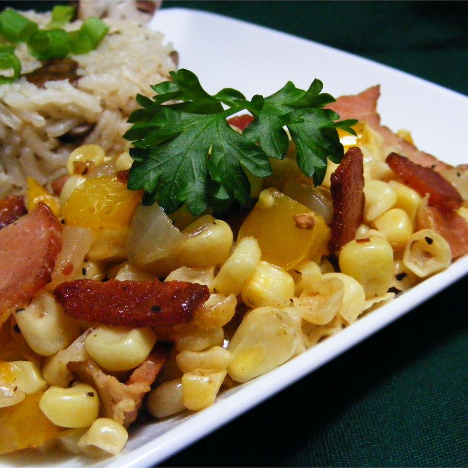 Skillet Fried Corn abapplez