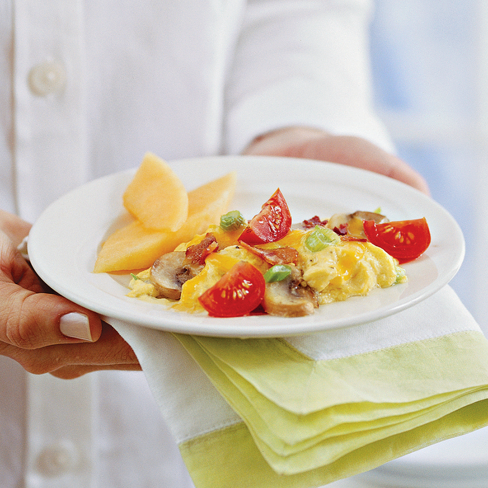 Fresh Tomato Omelets with Mozzarella Cheese Trusted Brands