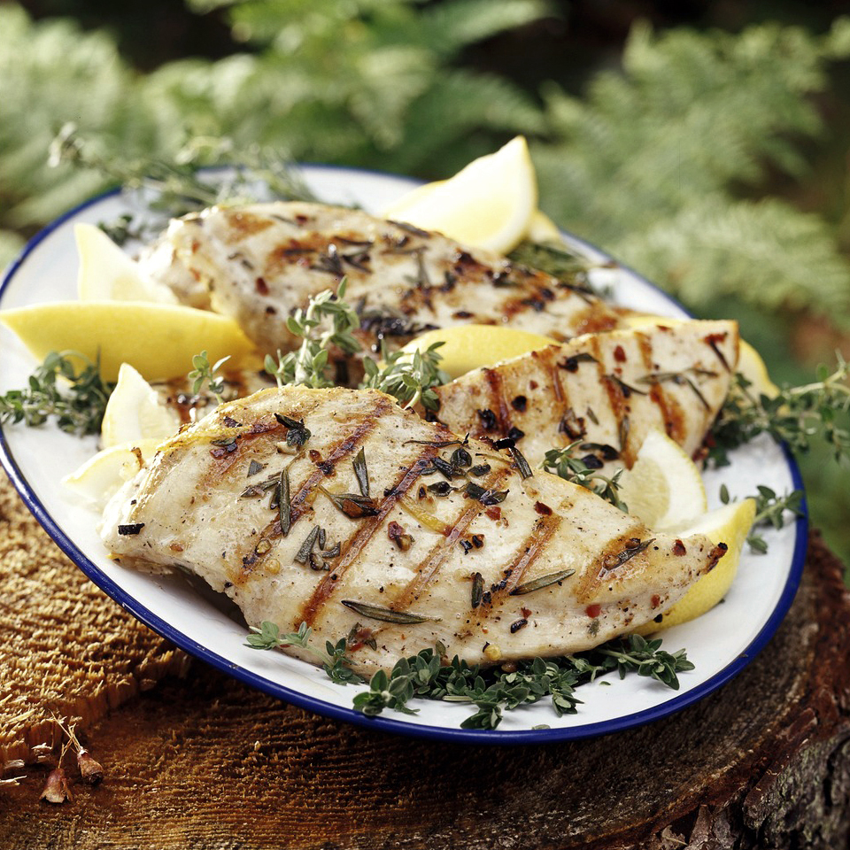 Grilled Lemon-Herb Chicken Trusted Brands