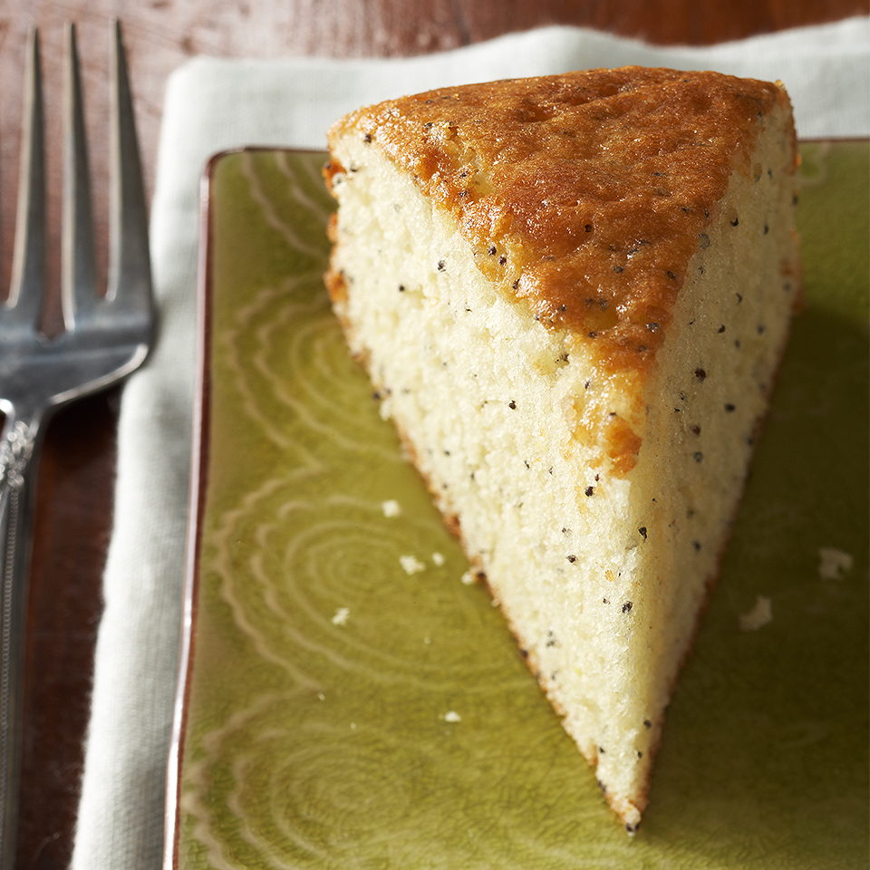 Lemon Poppy Seed Snack Cake
