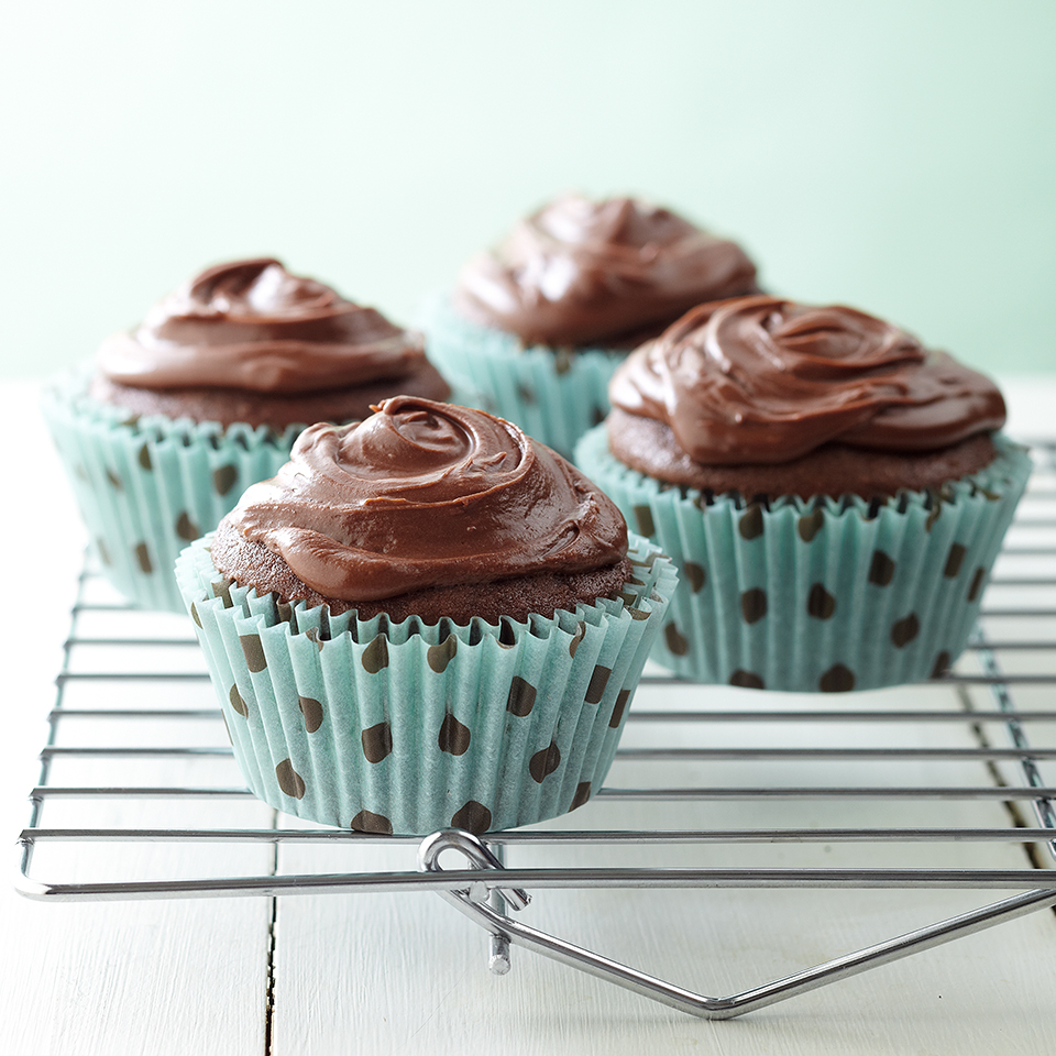 Double Chocolate Cupcakes Diabetic Living Magazine