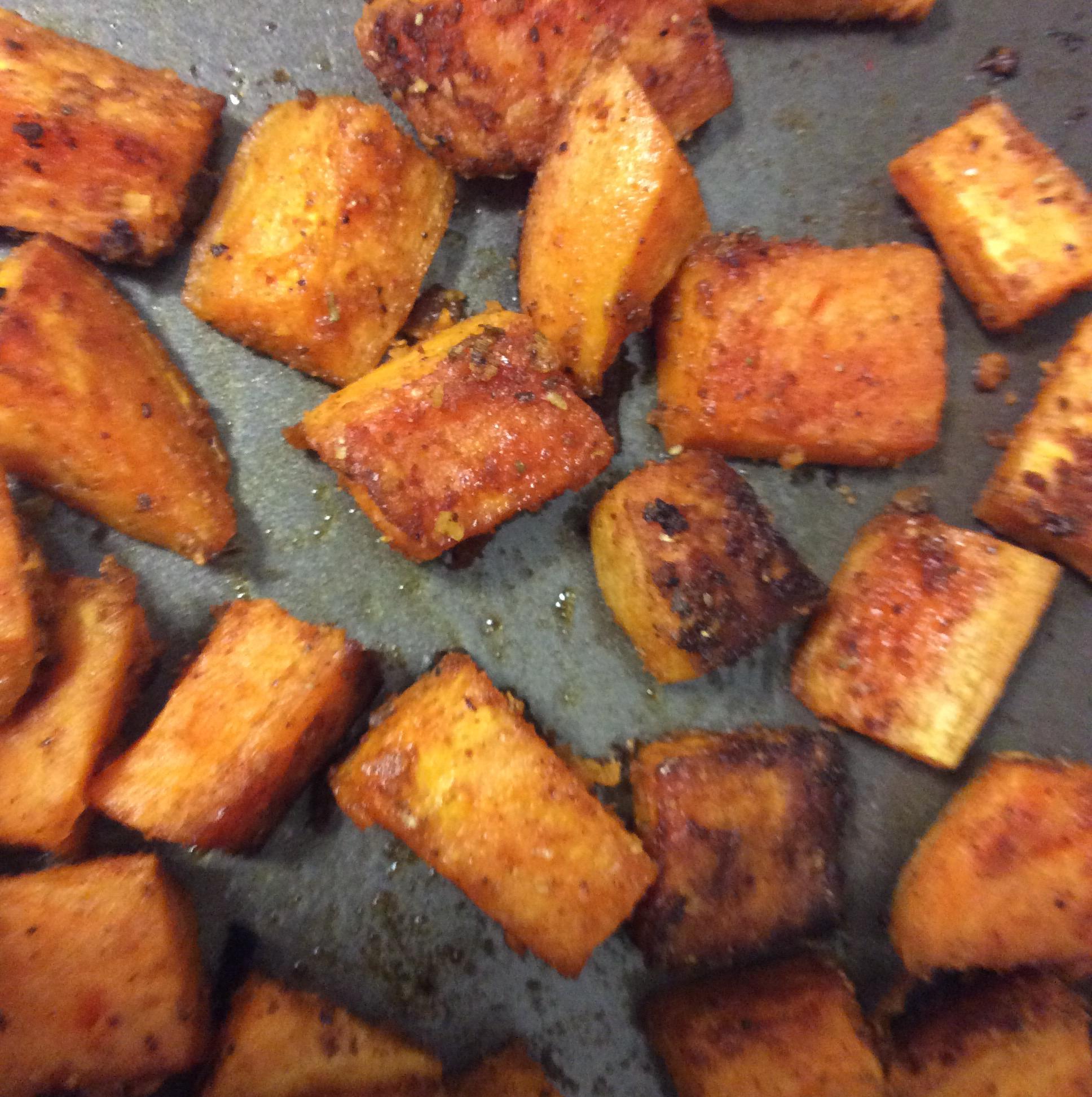 Sweet and Spicy Sweet Potatoes Jadwiga Kramczynski