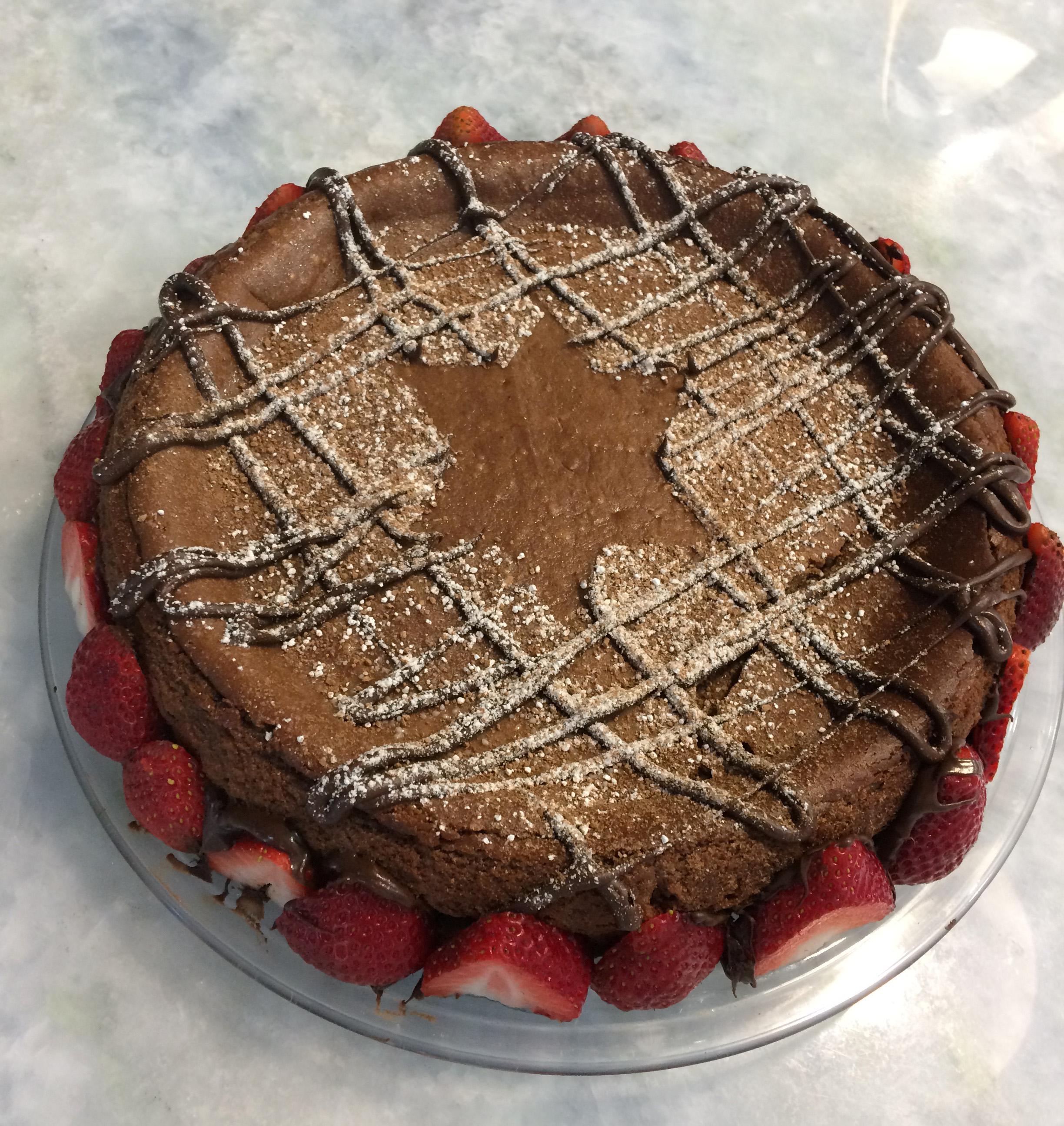 Passover Chocolate Cheesecake STELLALUNA17