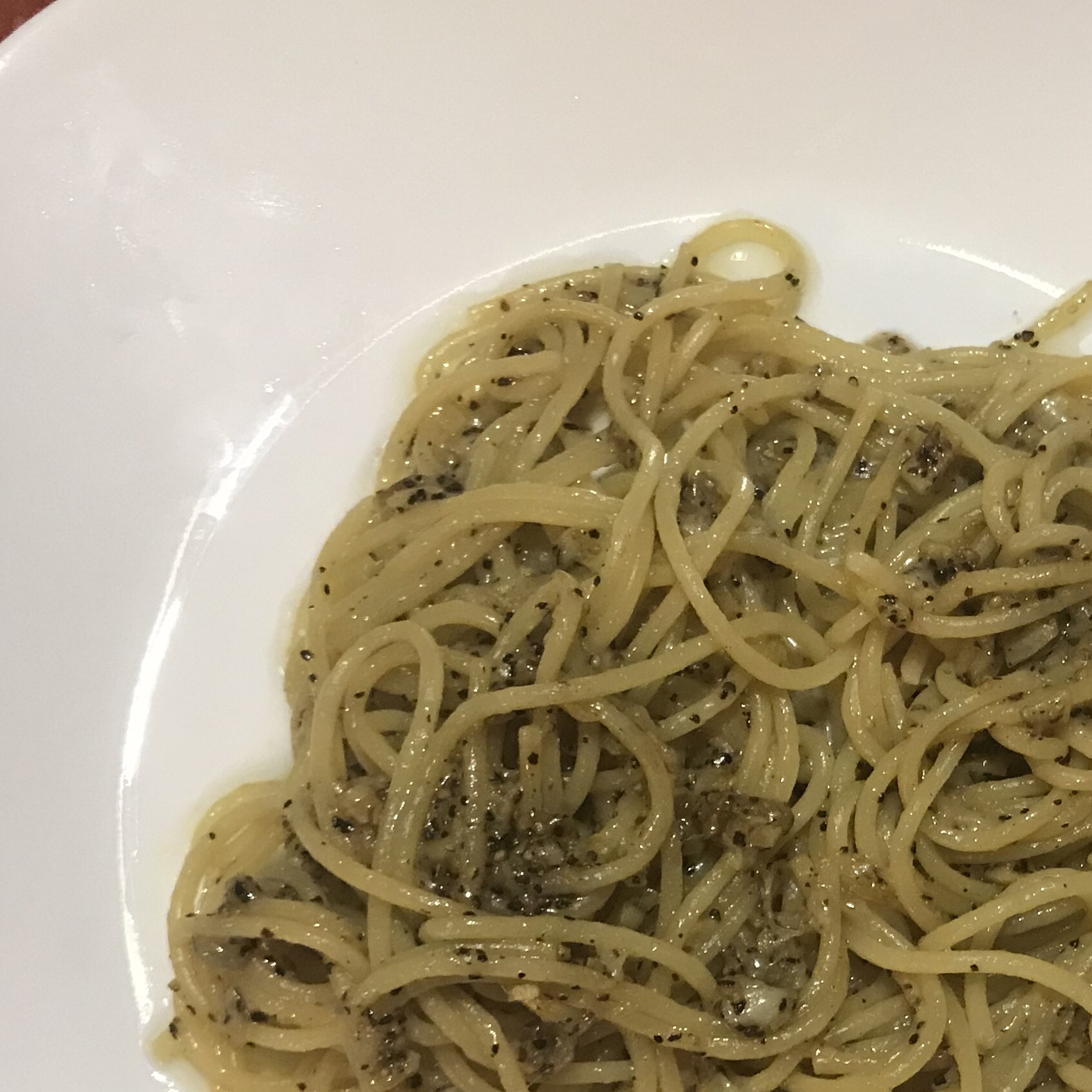 Spaghetti Cacio e Pepe Kim Encarnacion