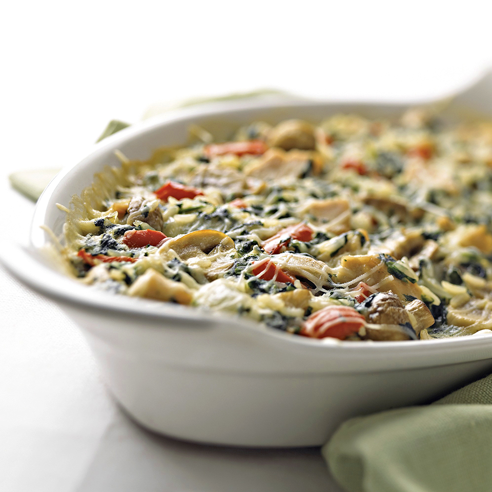 Turkey-Vegetable Bake Diabetic Living Magazine