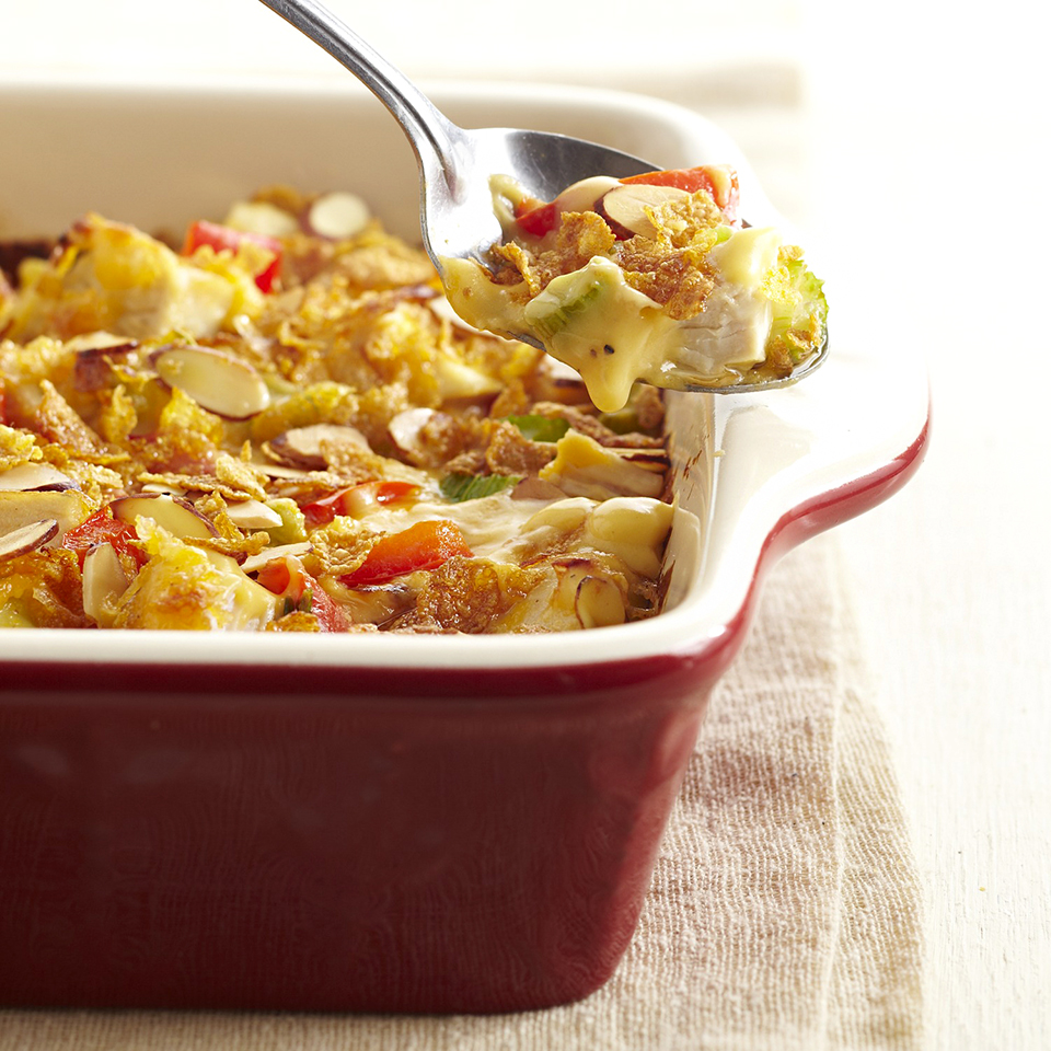 Hot Chicken Salad Casserole Diabetic Living Magazine
