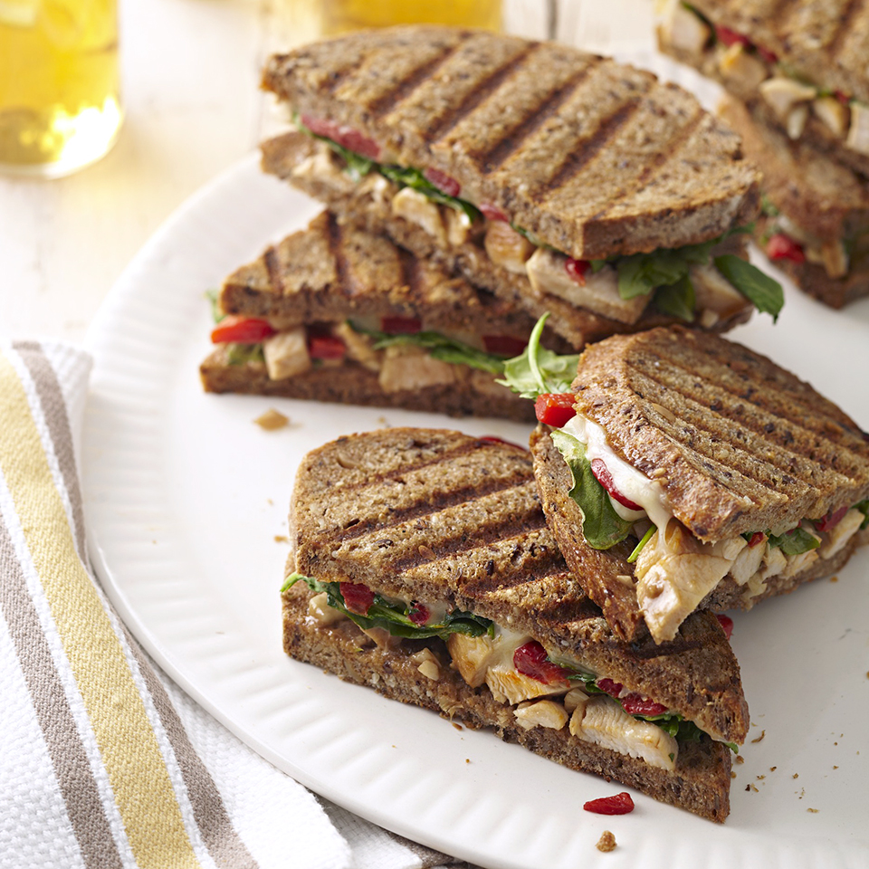 Chicken Salad Panini Sandwiches Diabetic Living Magazine