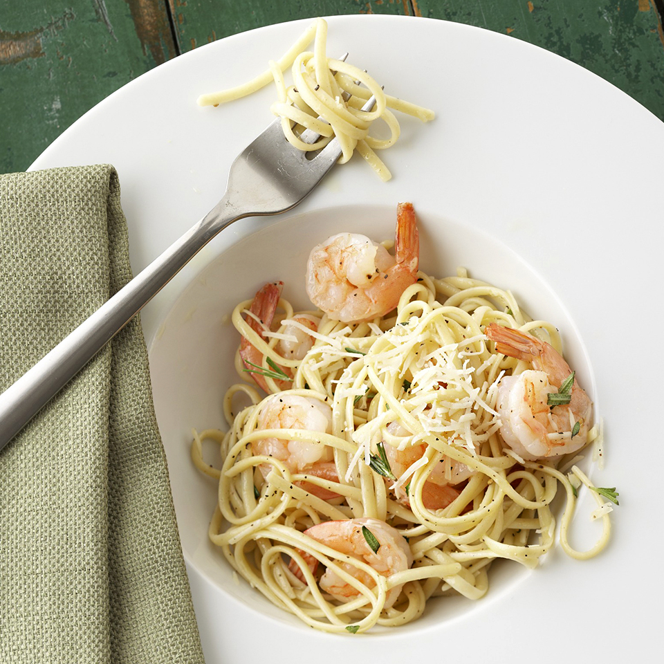 Fresh Herb Shrimp Linguini Diabetic Living Magazine